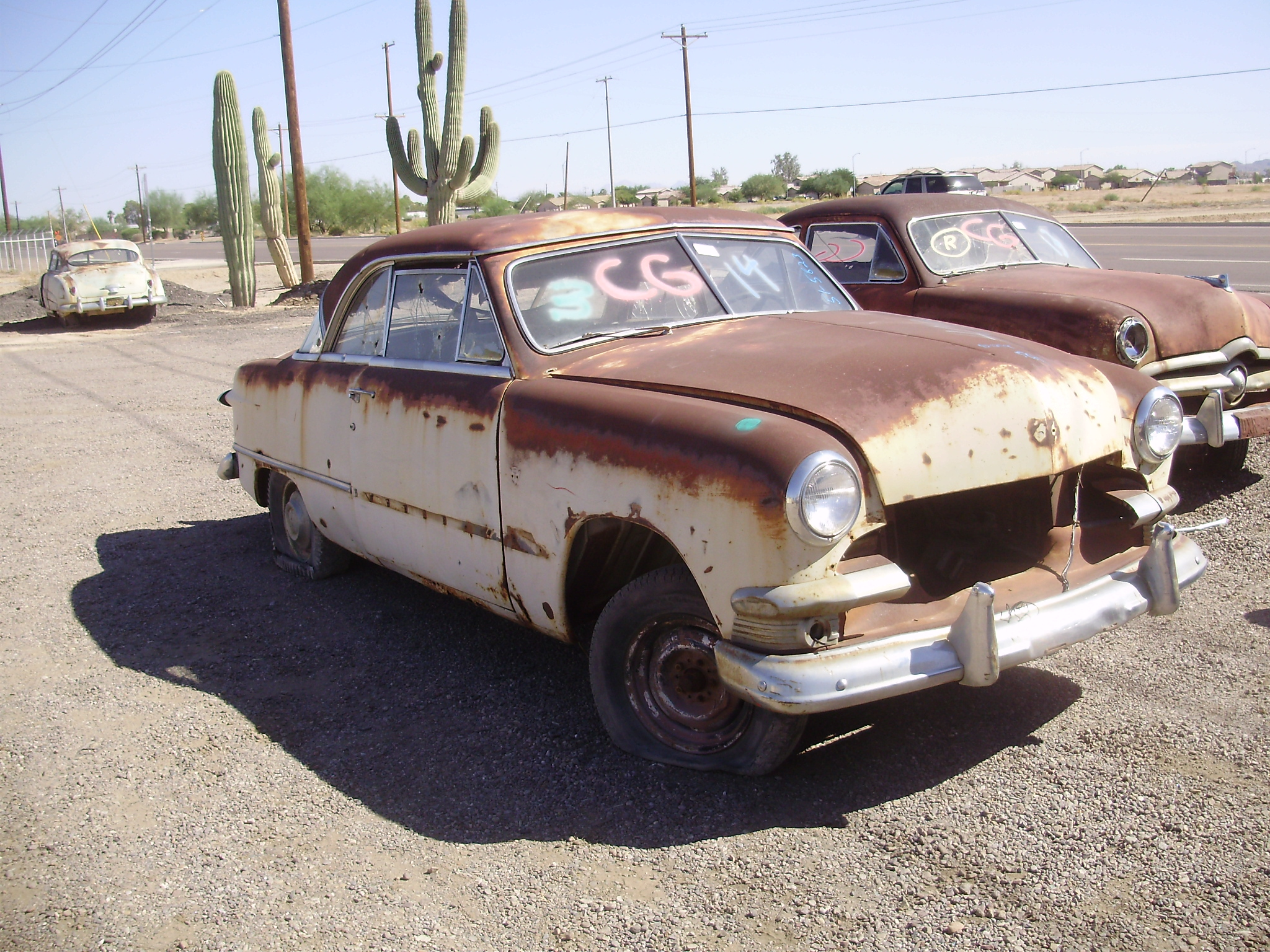 1951 Ford Ford Car 51fo5823c Desert Valley Auto Parts