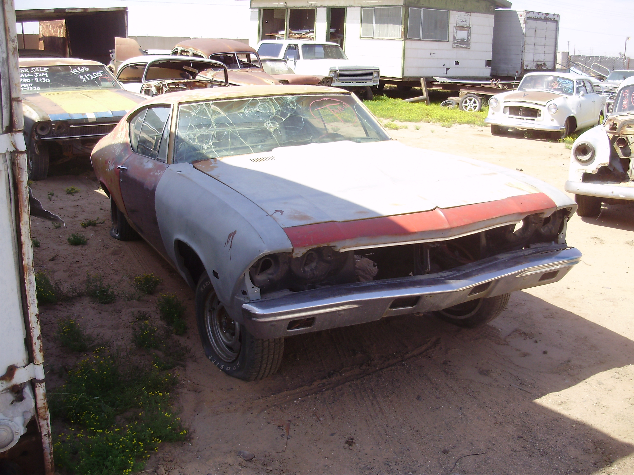 Used Car Parts For Sale: 1968 Chevrolet Chevelle (#68CH8735D)