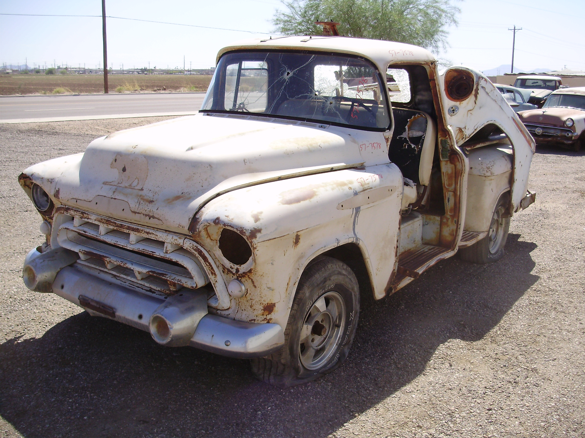 1957 chevy truck chevrolet truck 57ct7578c desert valley auto parts. Black Bedroom Furniture Sets. Home Design Ideas
