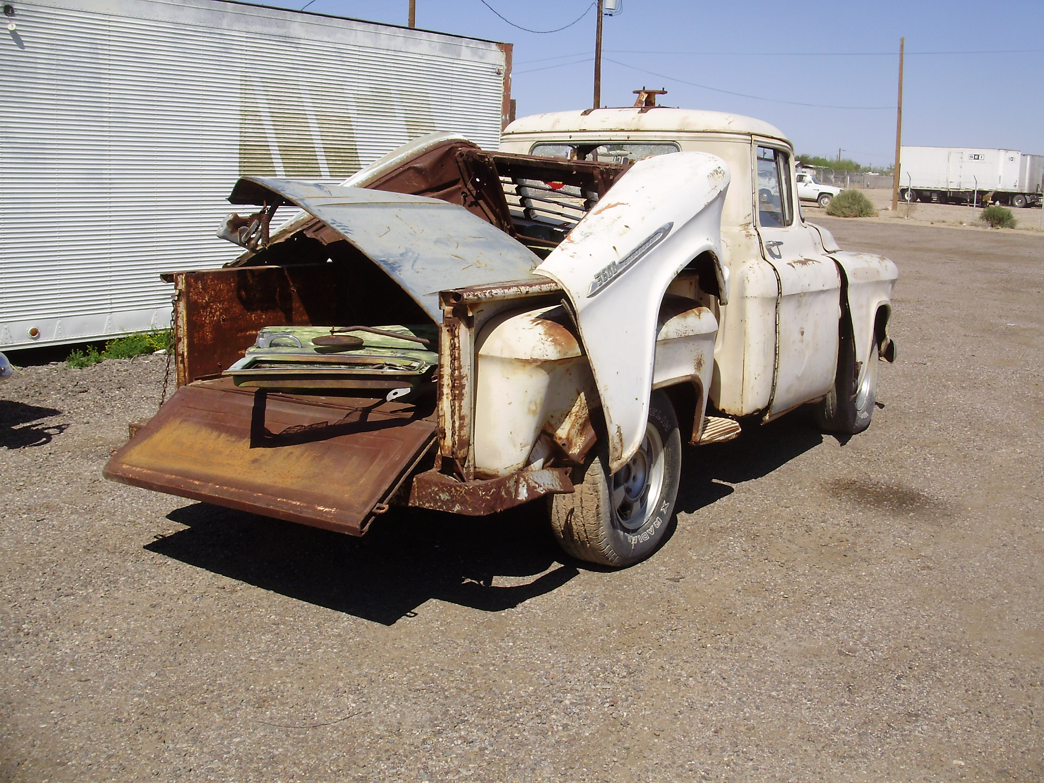 1957 Chevy Truck Chevrolet 57ct7578c Desert Valley Auto Parts 4 Door