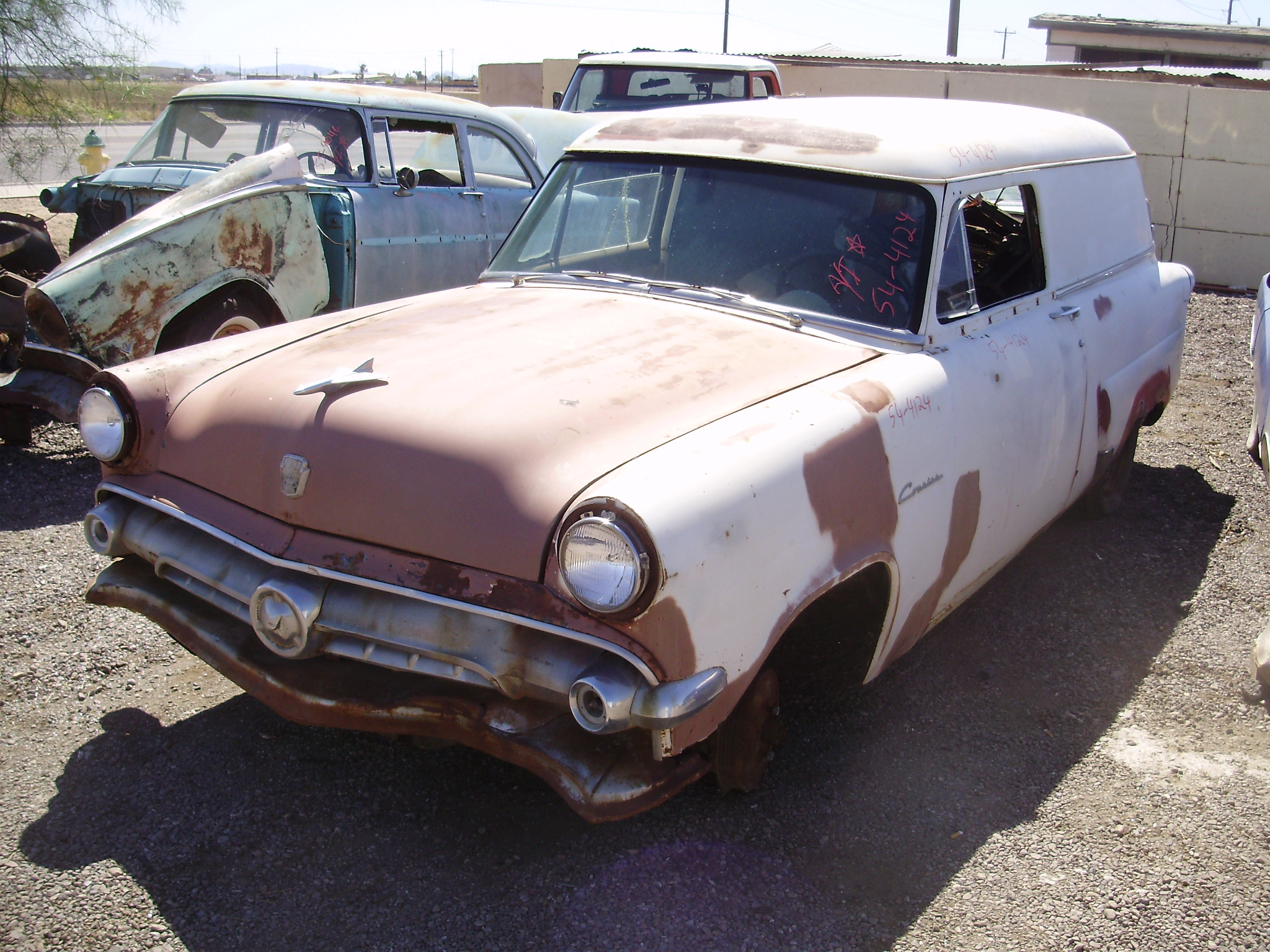 1954 ford ford car 54fo4124c desert valley auto parts. Black Bedroom Furniture Sets. Home Design Ideas