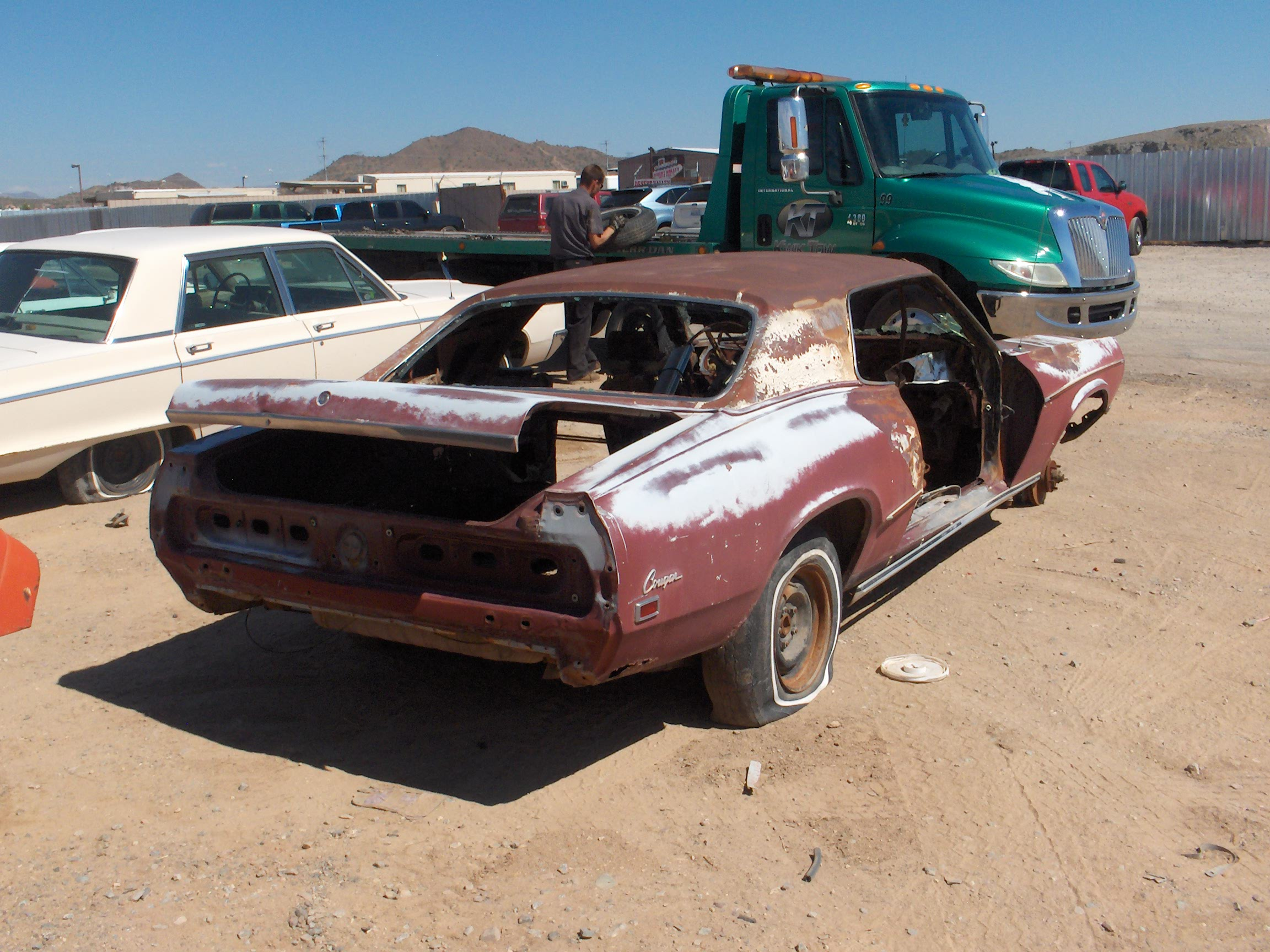 1969 Mercury Cougar 69me5438d Desert Valley Auto Parts