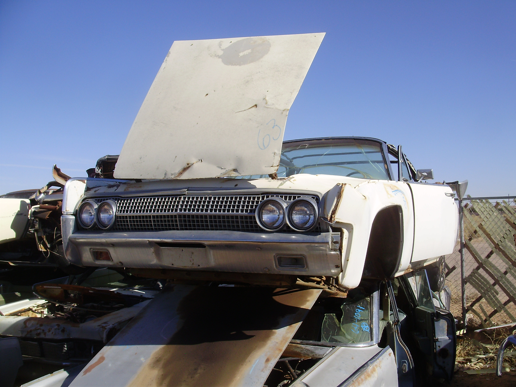 1963 lincoln lincoln continental 63linvv2c desert valley auto parts. Black Bedroom Furniture Sets. Home Design Ideas