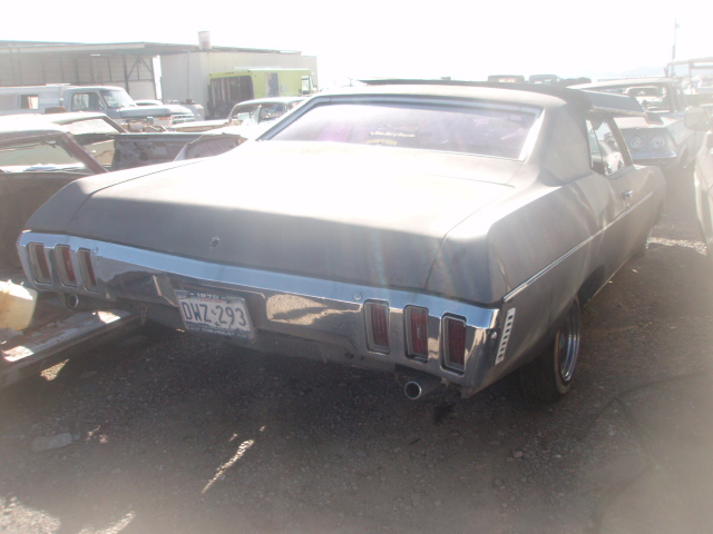 Deluxe Auto Parts >> 1970 Chevrolet Impala (#70CH2506D) | Desert Valley Auto Parts