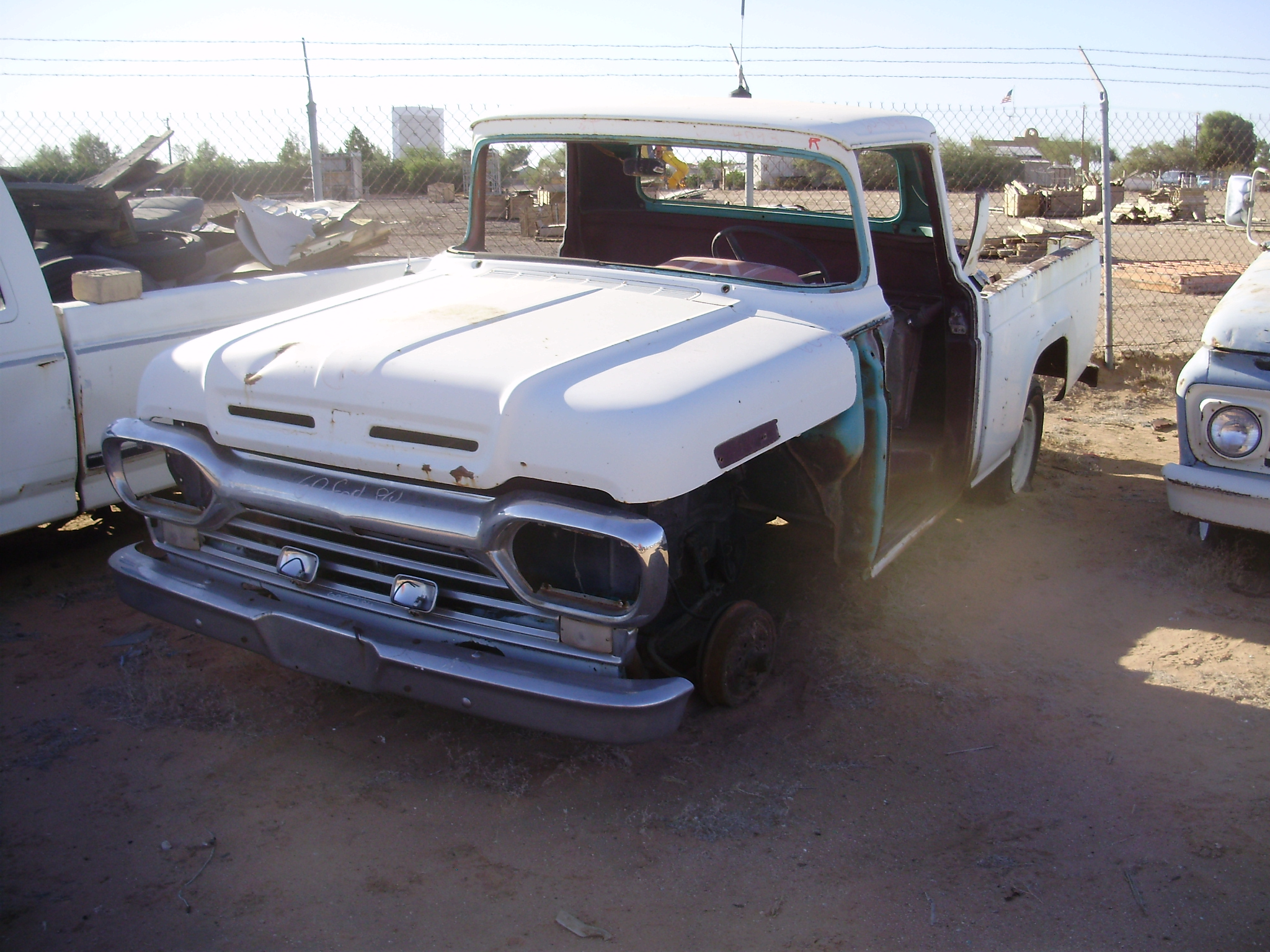 1960 Ford-Truck F 100 (#60FT5093C) | Desert Valley Auto Parts - photo#13