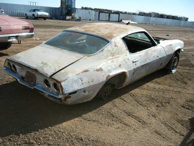 Camaro Wrecking Yards : Chevrolet project cars for sale in junkyard autos post
