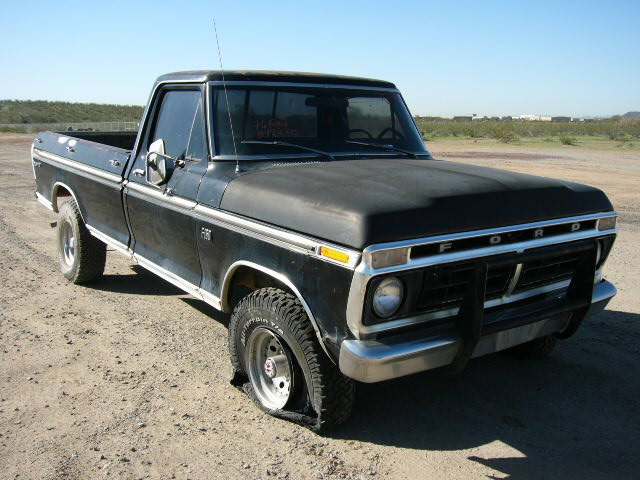 1976 ford truck f150 76ft8270d desert valley auto parts. Black Bedroom Furniture Sets. Home Design Ideas