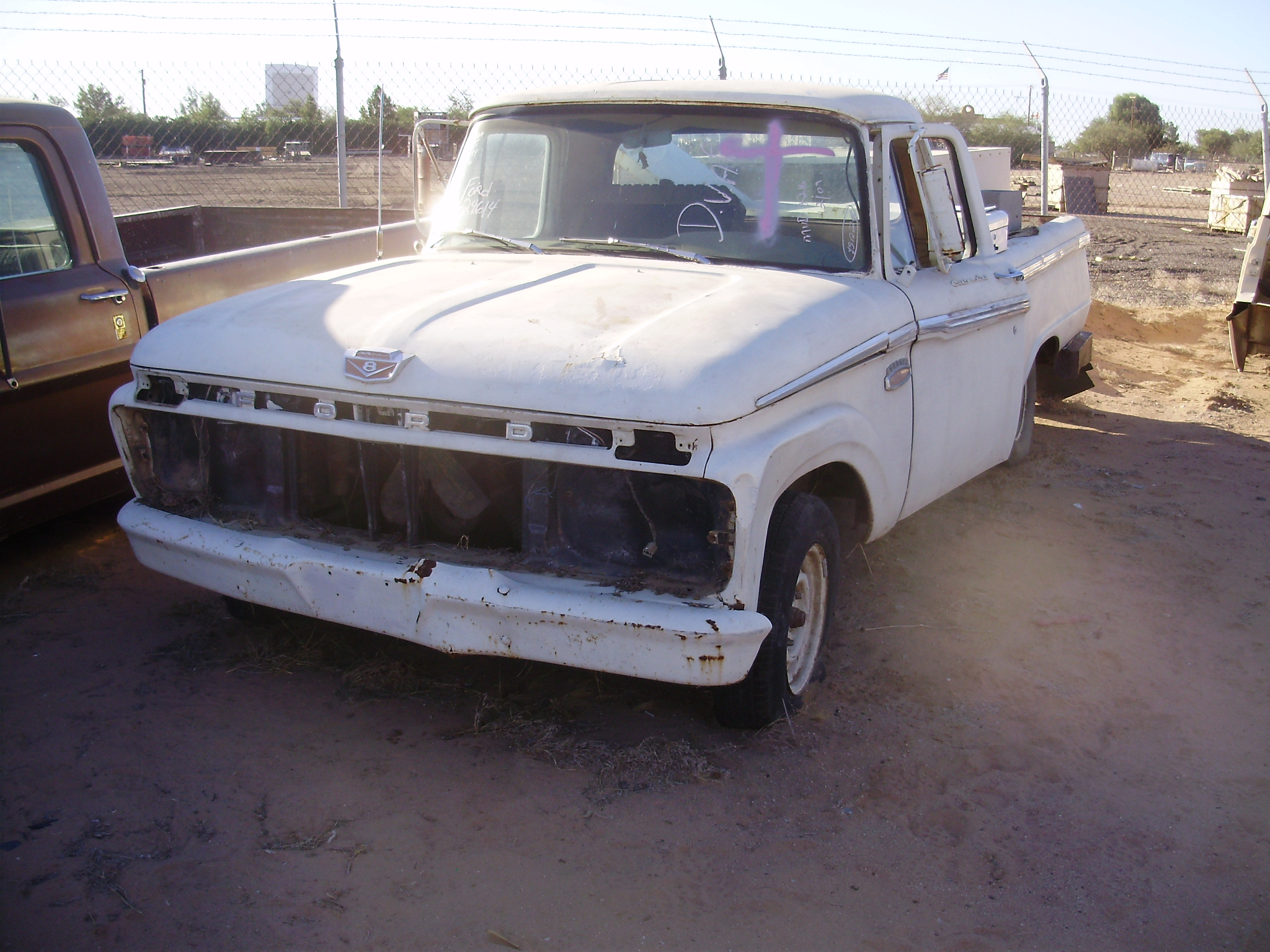 1965 Ford Truck F 100 65ft4614c Desert Valley Auto Parts Wiring