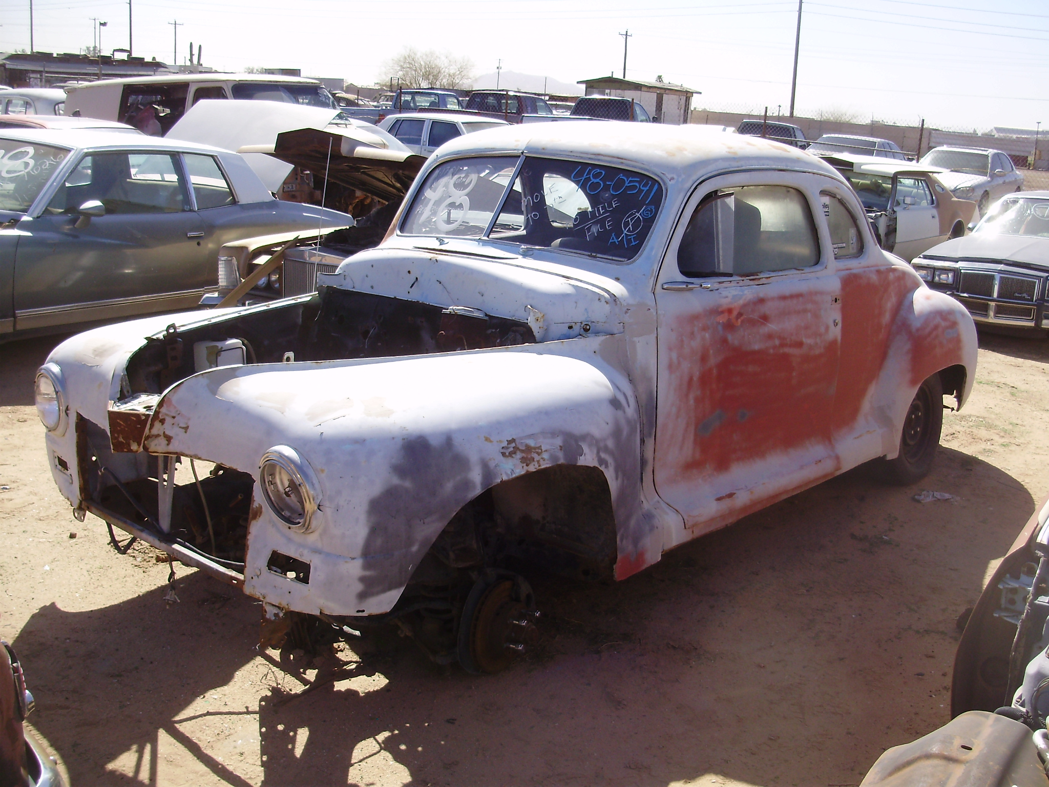 1948 Plymouth Plymouth Car 48pl0541c Desert Valley