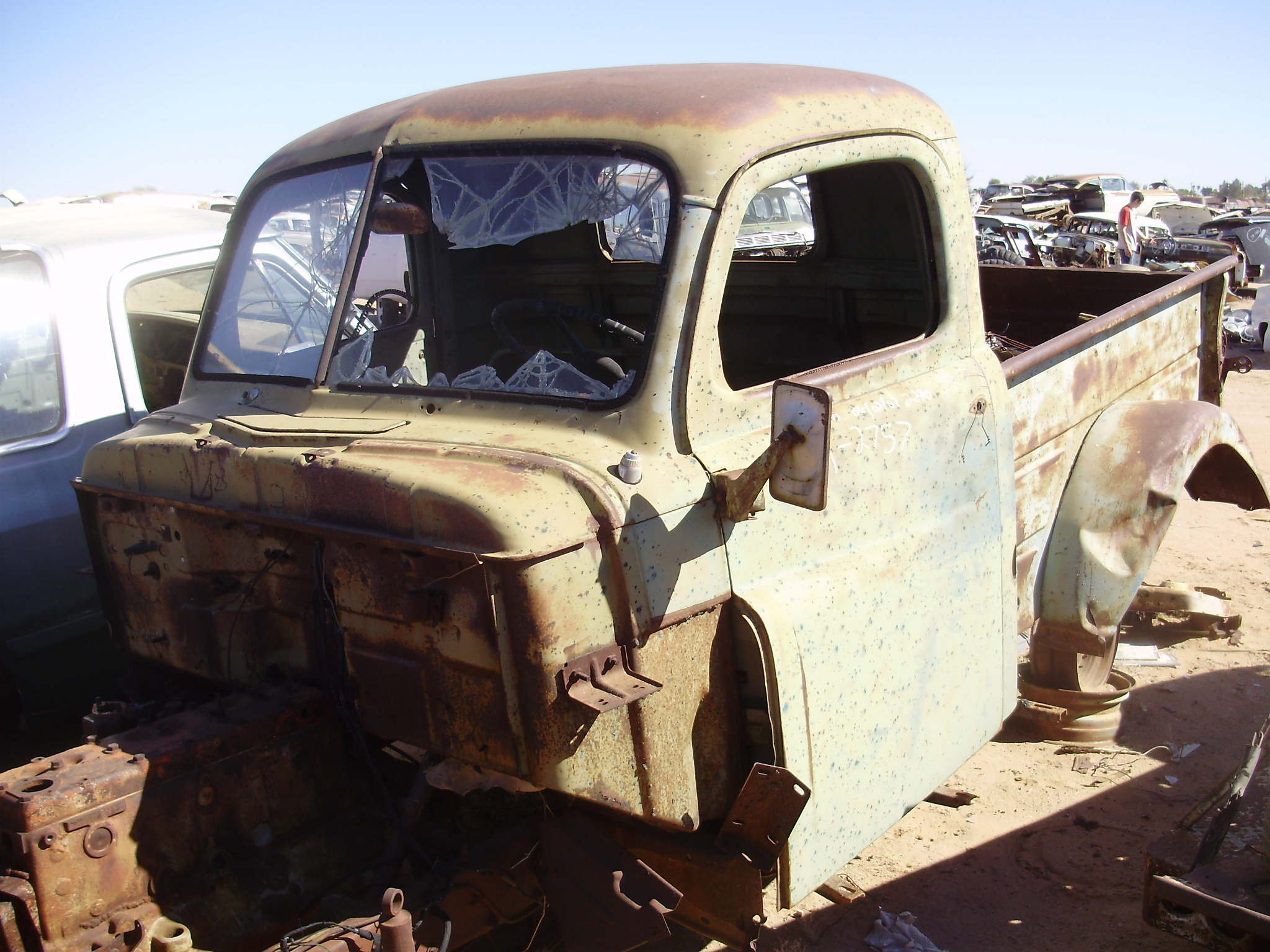 Dodge Truck Salvage Yards >> The 47th Annual Portland Swap Meet Hot Rod Network 1949
