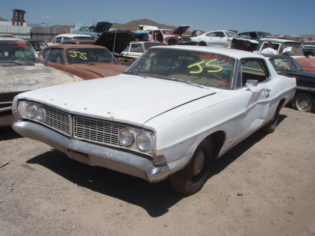 1968 ford galaxie 500 68fo8627d desert valley auto parts. Cars Review. Best American Auto & Cars Review