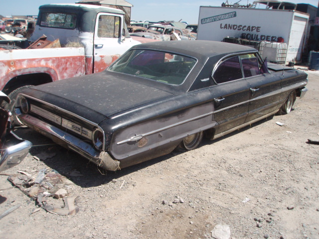 1964 Ford Galaxie 500 64fo8627d Desert Valley Auto Parts