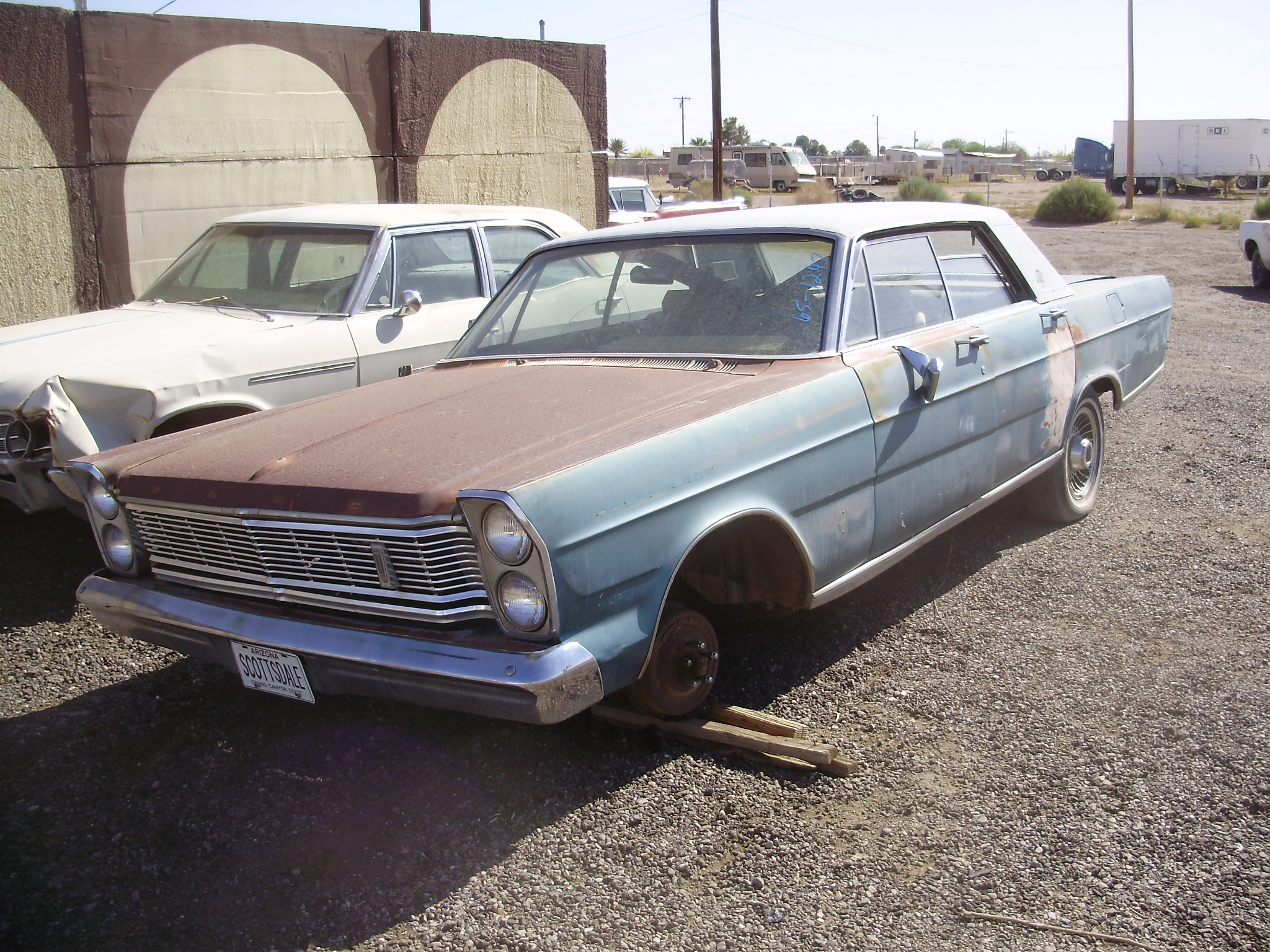 1965 Ford Galaxie 500 65fo1247c Desert Valley Auto Parts