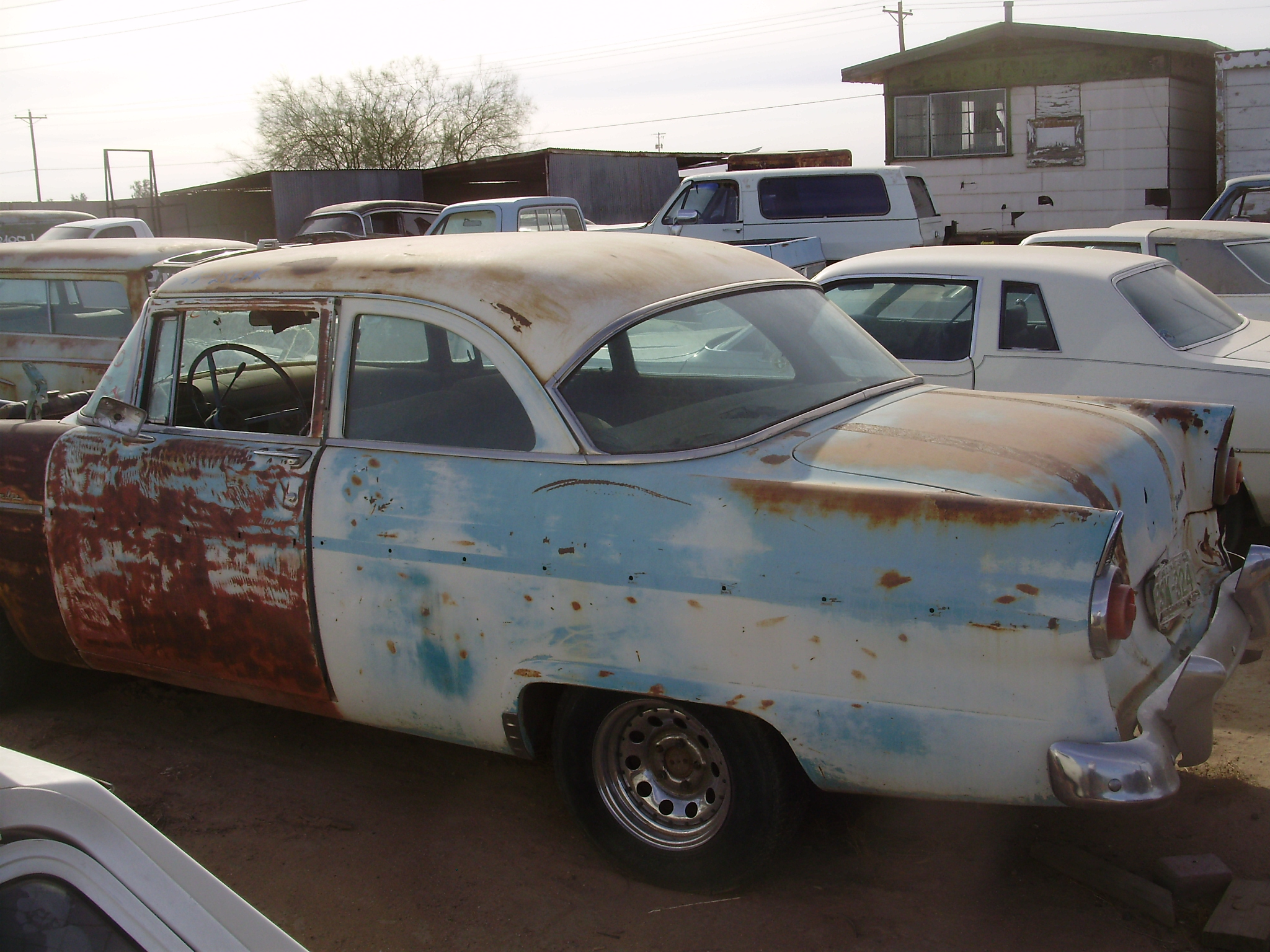 1955 Ford Ford Car (#55FO2567C) | Desert Valley Auto Parts - photo#43