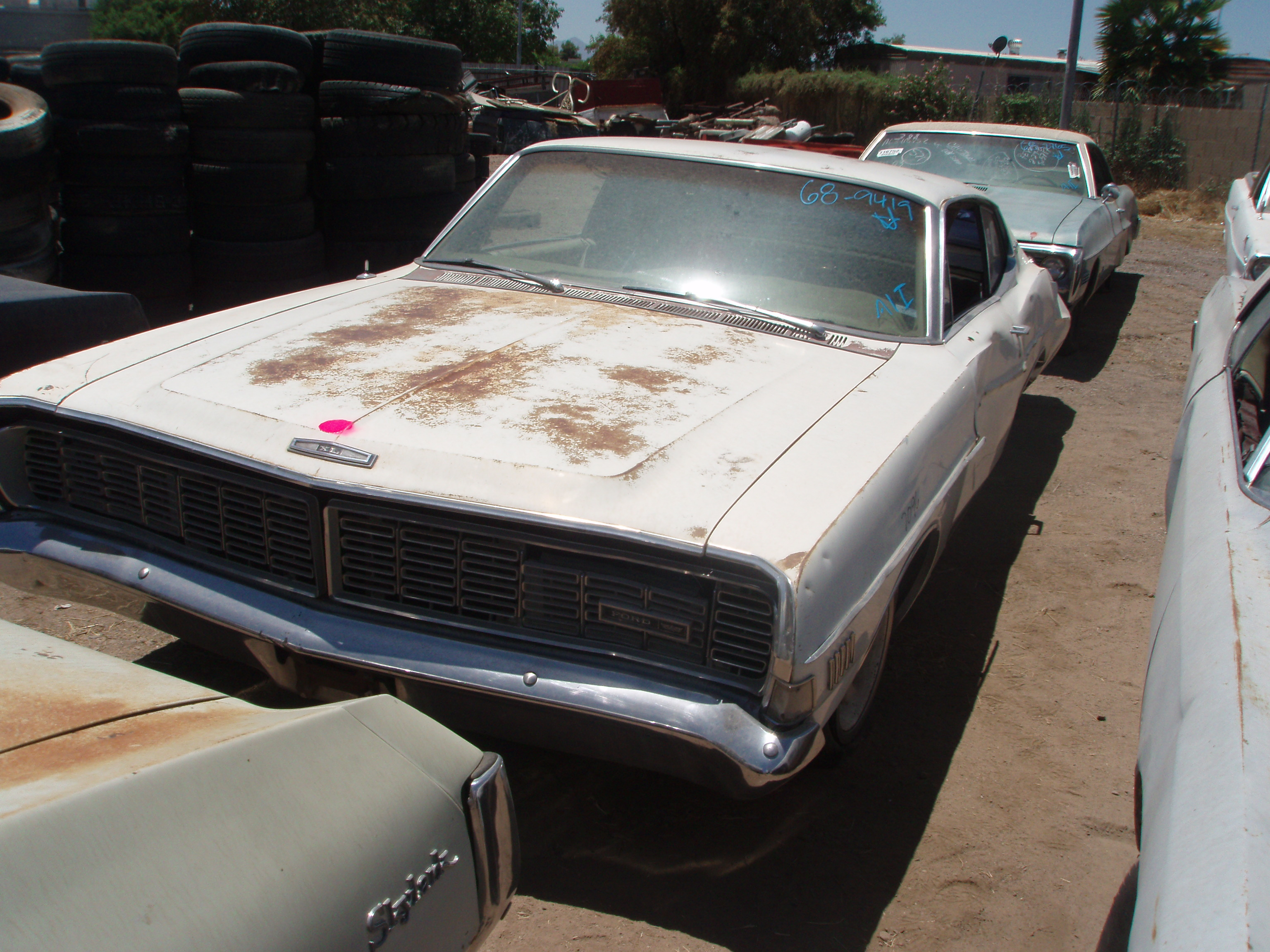 1968 Ford Thunderbird For Sale - 1968 ford galaxie 500 68fo9419d