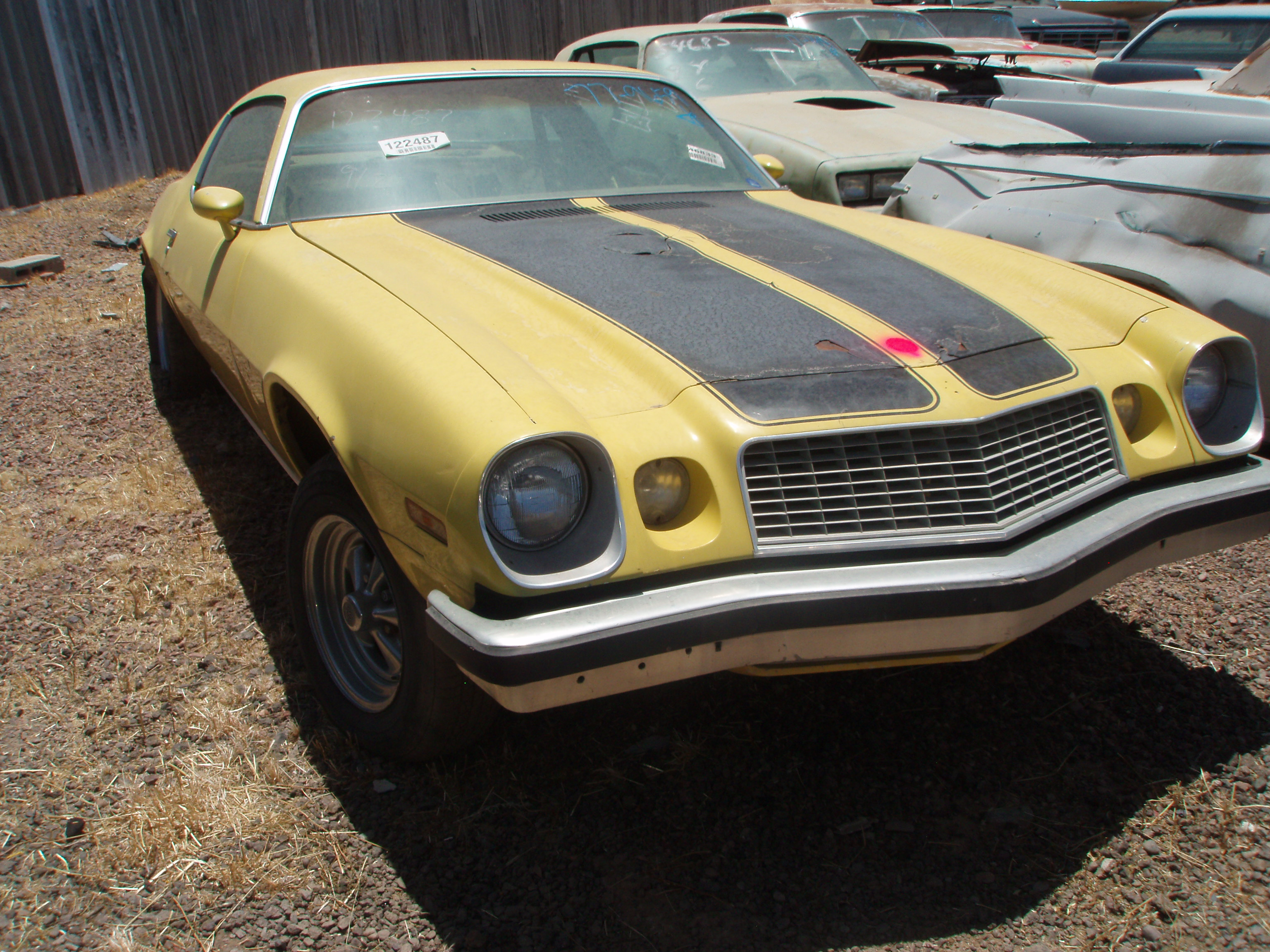 1977 Chevrolet Camaro 77CH9659D  Desert Valley Auto Parts