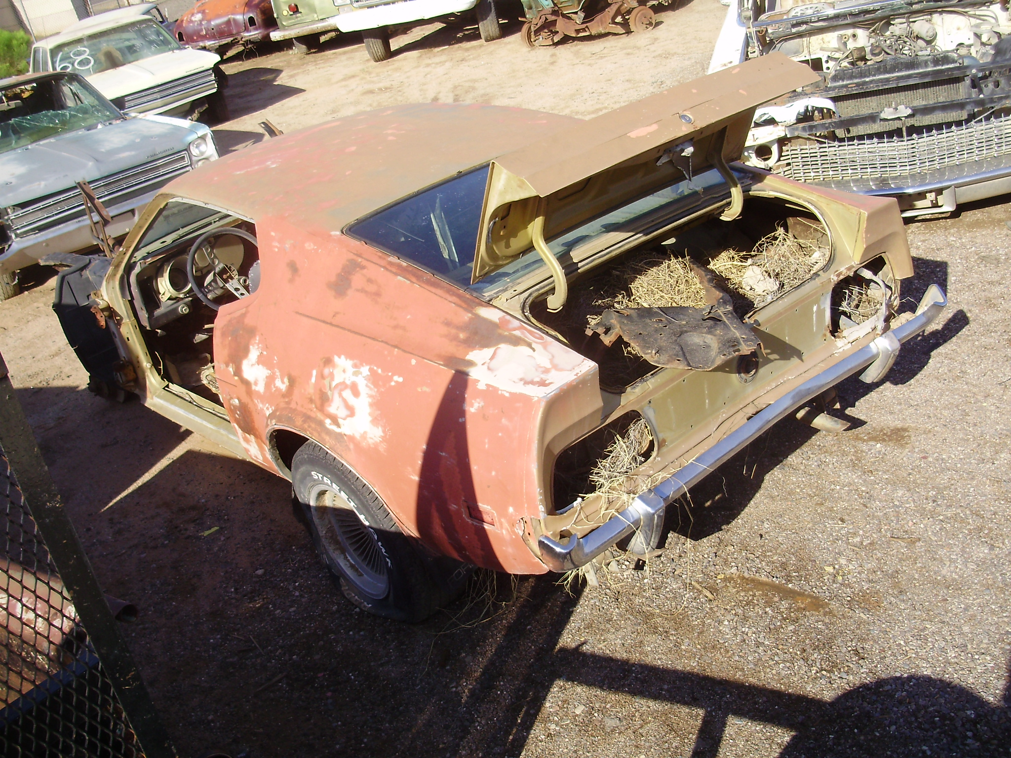 1973 Ford Mustang (#73FO1937C)   Desert Valley Auto Parts