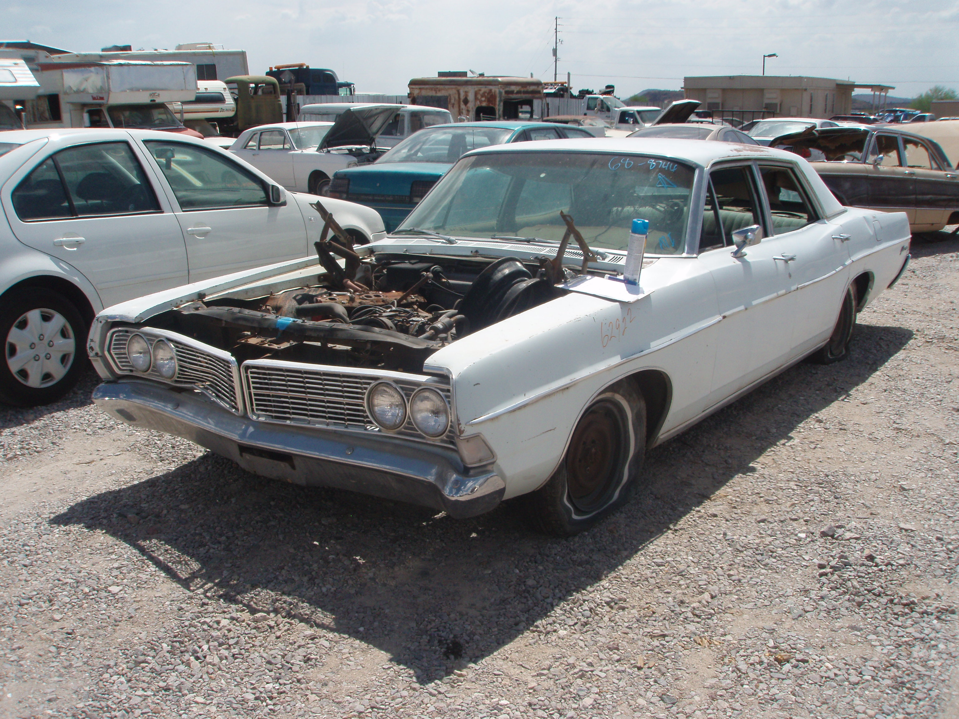 1968 ford galaxie 500 68fo8746d desert valley auto parts. Cars Review. Best American Auto & Cars Review