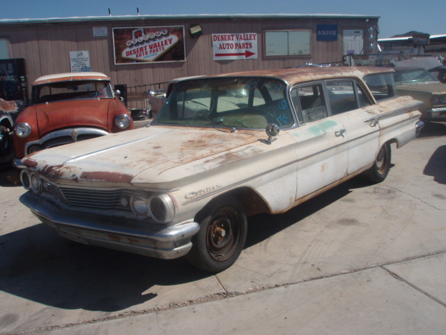1960 Pontiac Catalina (#60PO1909D) | Desert Valley Auto Parts