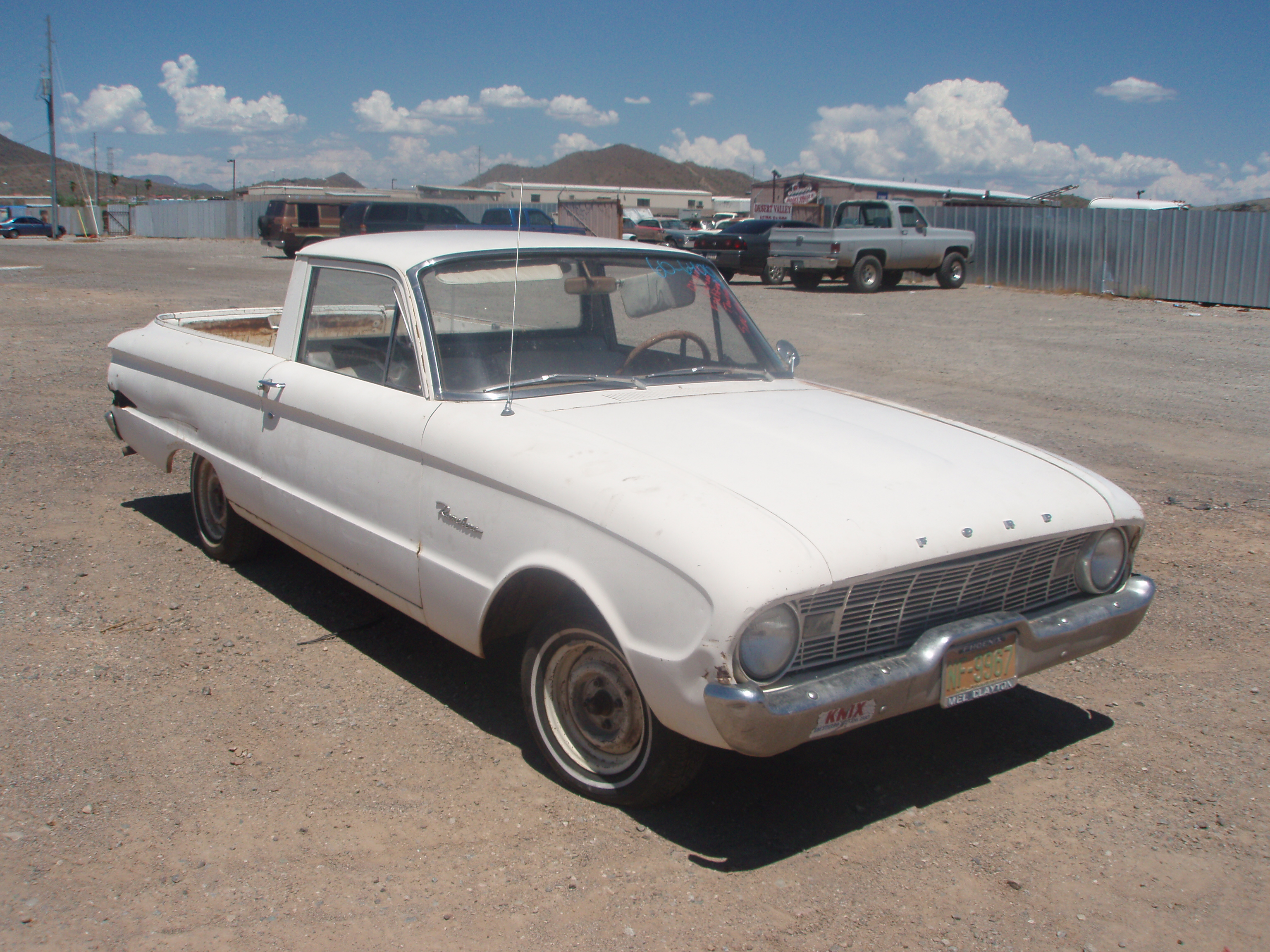 1960 ford falcon 60fo6400d desert valley auto parts. Black Bedroom Furniture Sets. Home Design Ideas