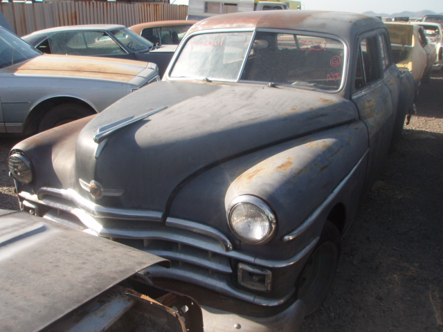 Salvage Car Parts >> 1949 Chrysler Windsor (#49CR3231D) | Desert Valley Auto Parts
