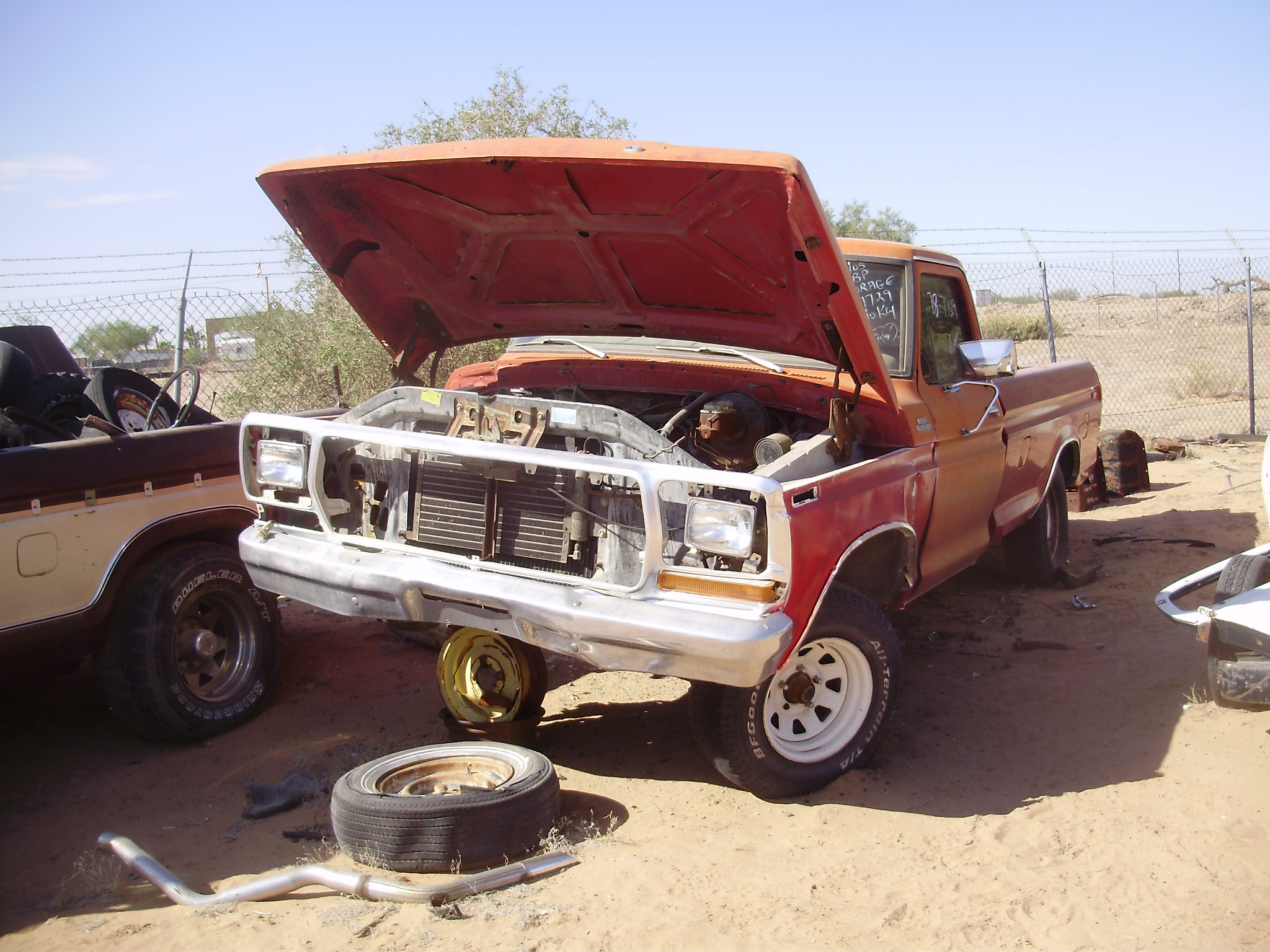 1978 Ford-Truck F150 (#78FT7729C) | Desert Valley Auto Parts - photo#48