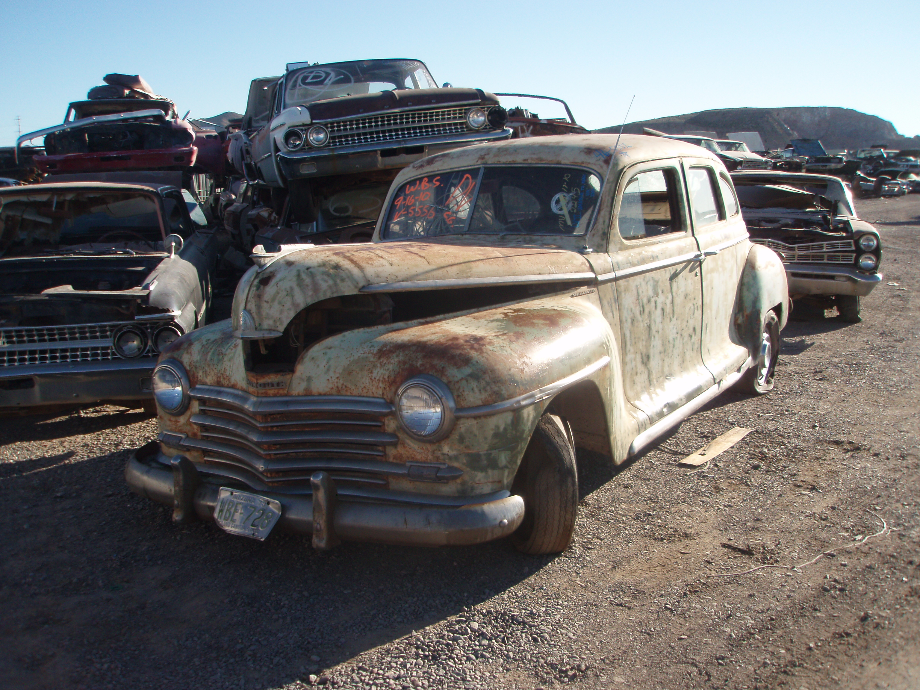 1946 plymouth deluxe 46pl5556c desert valley auto parts for 1946 plymouth special deluxe 4 door