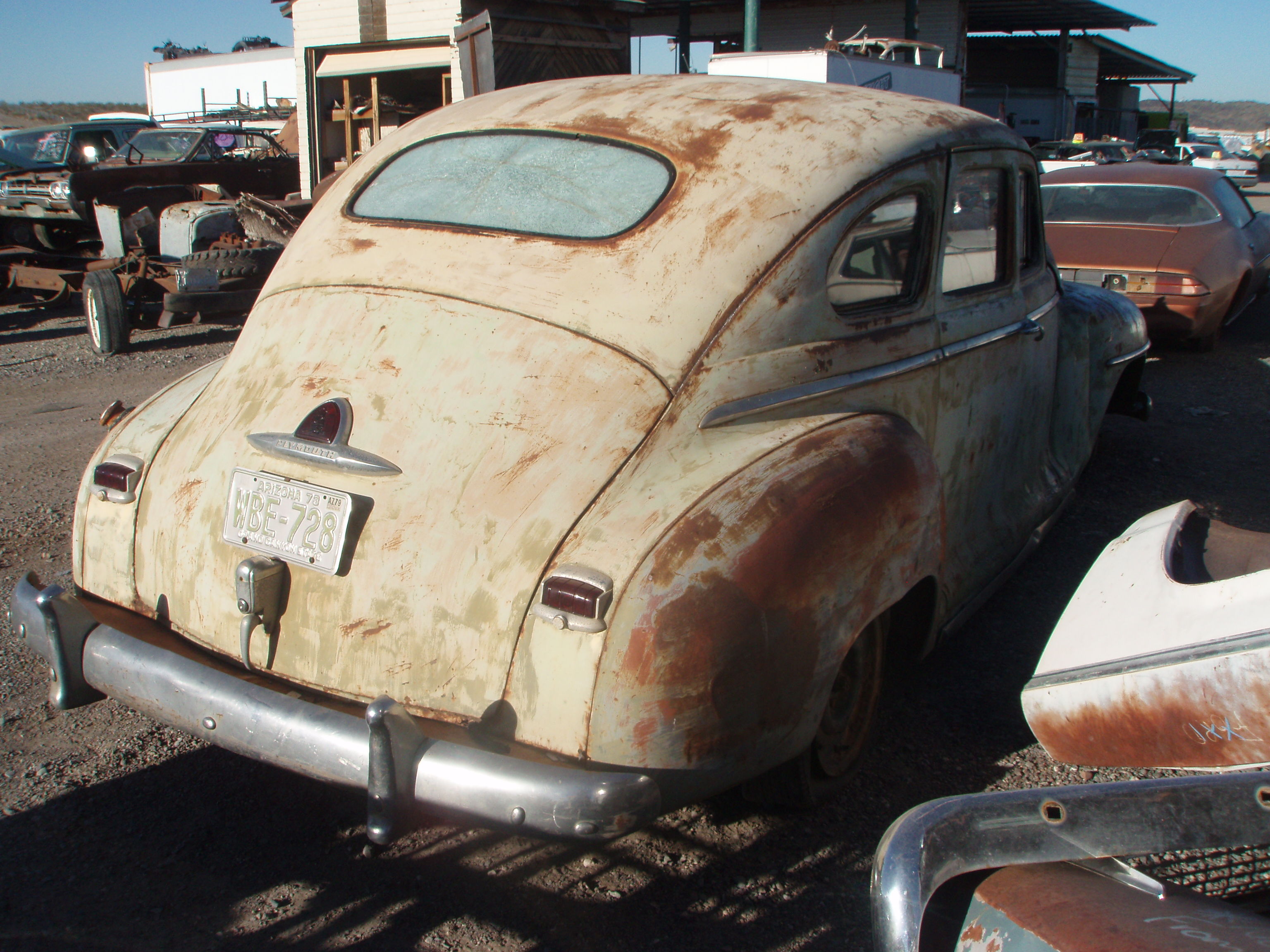 Kings Auto Parts >> 1946 Plymouth Deluxe (#46PL5556C) | Desert Valley Auto Parts