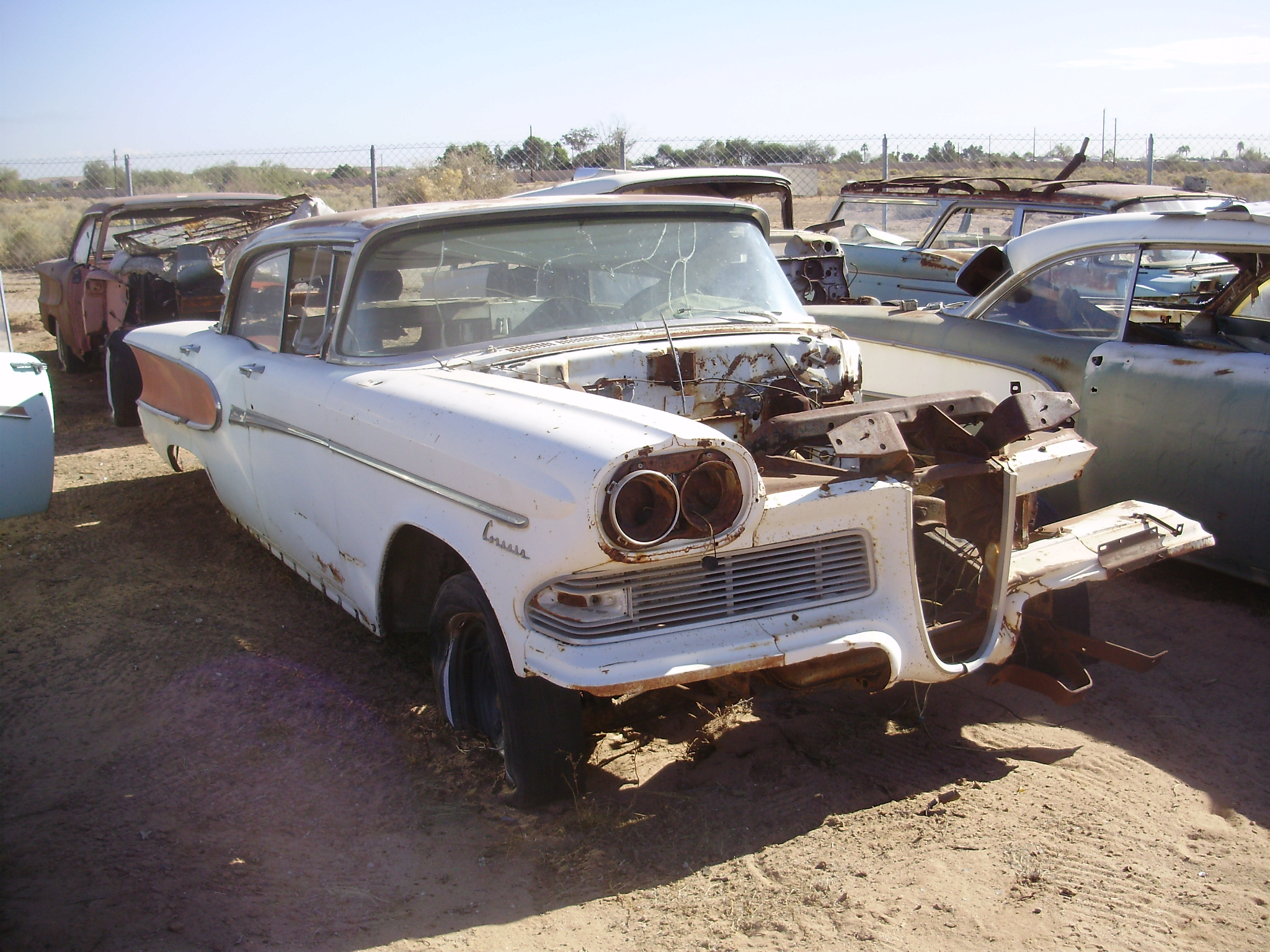 1958 Edsel Ford Car 584785c Desert Valley Auto Parts