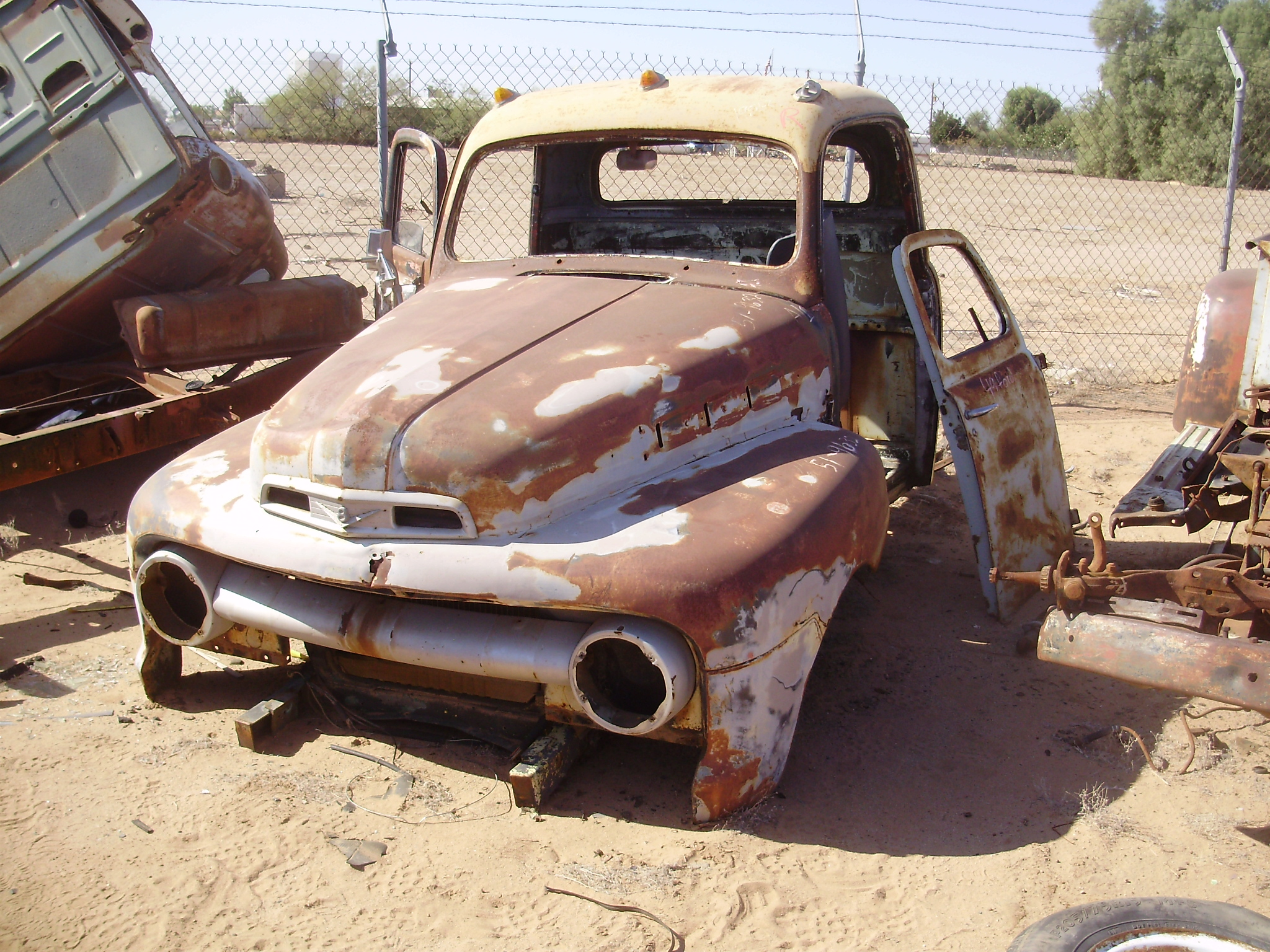 1951 Ford-Truck F 100 (#51FT9632C) | Desert Valley Auto Parts - photo#36