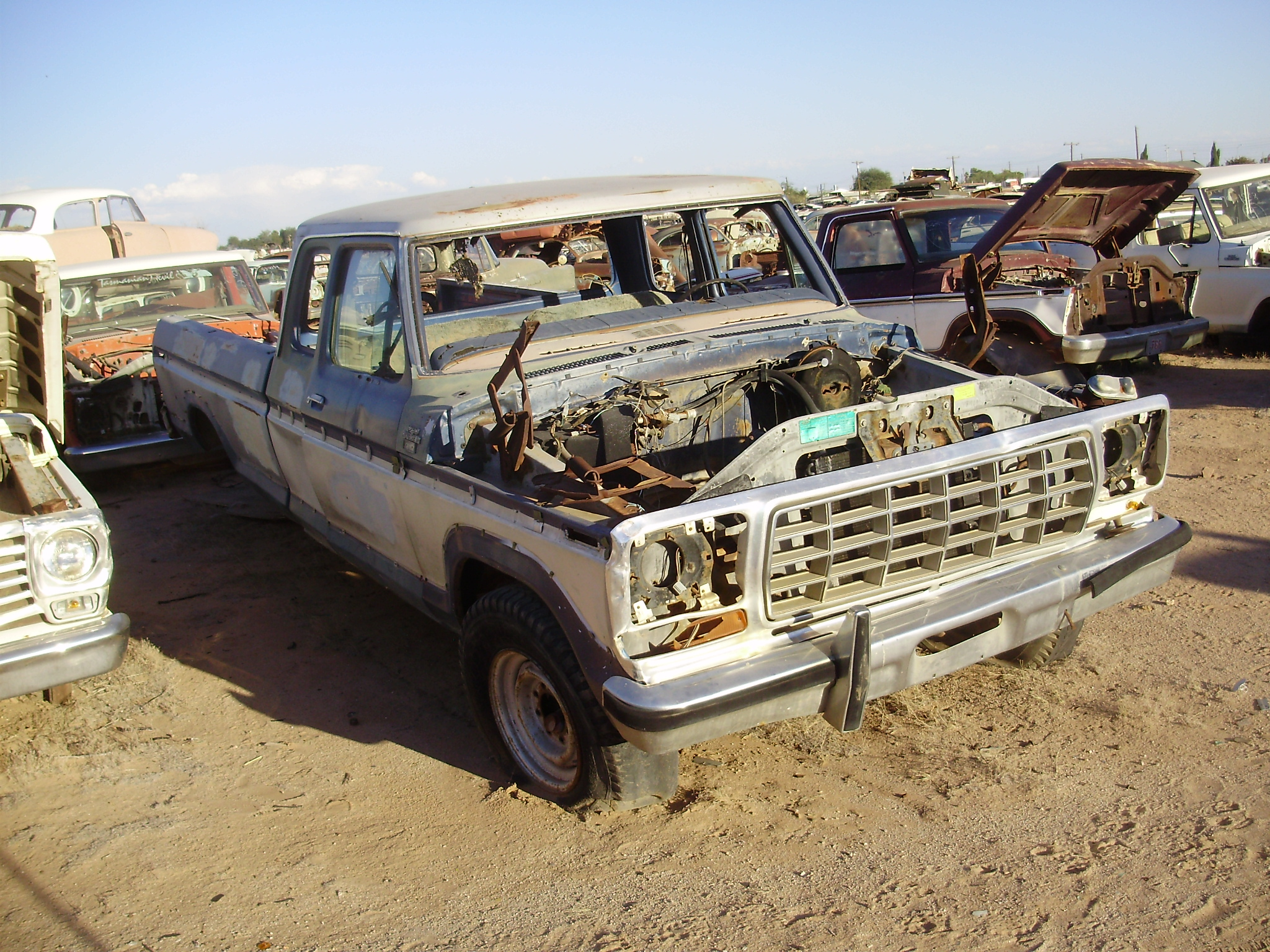 Ford F250 Parts >> 1978 Ford Truck F250 78ft8362c Desert Valley Auto Parts