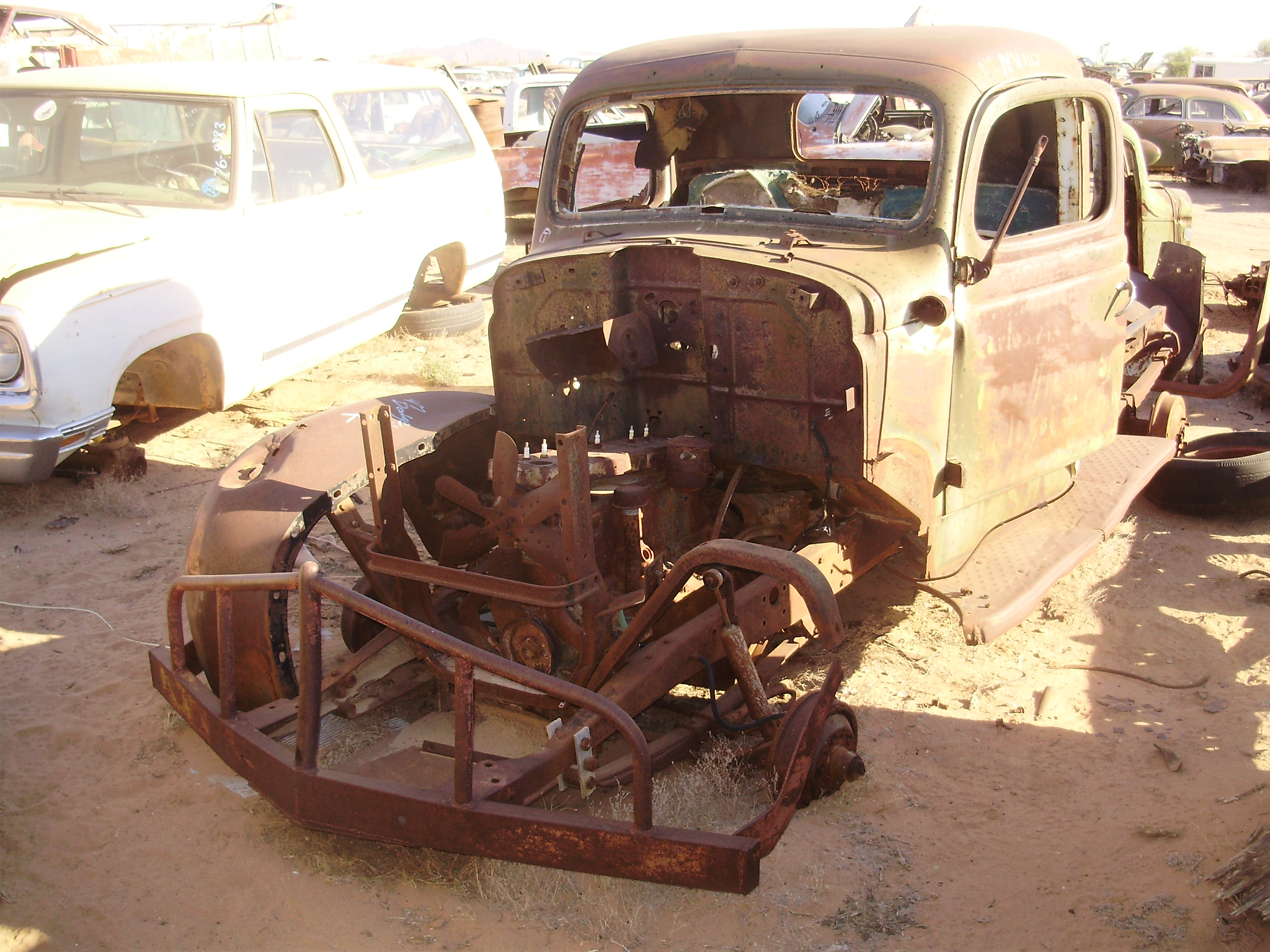 Dodge Truck Salvage Yards >> 1947 Dodge-Truck 1/2 (#47DTNVV2C) | Desert Valley Auto Parts