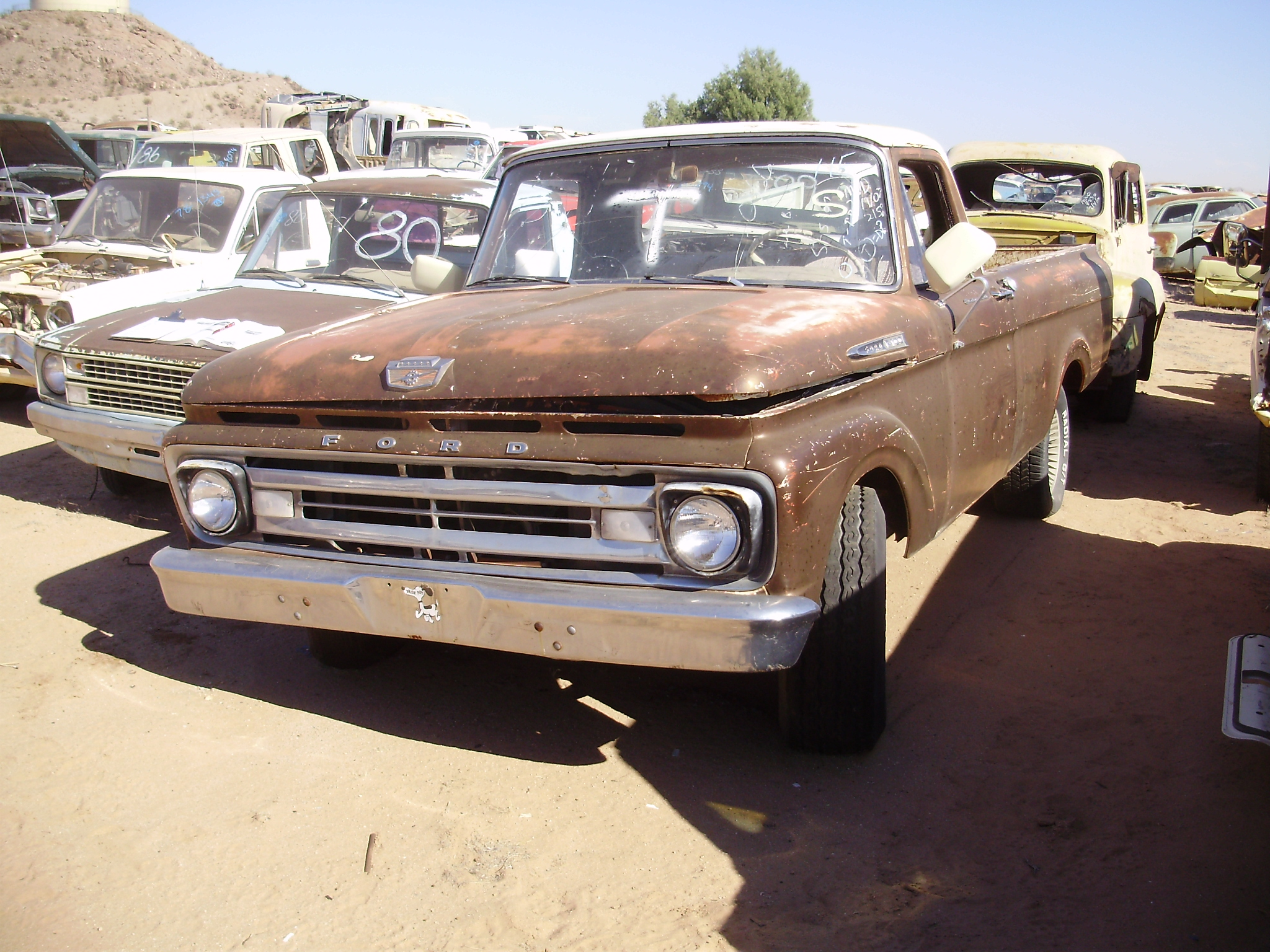 1963 ford truck f 100 63ft0366c desert valley auto parts. Black Bedroom Furniture Sets. Home Design Ideas