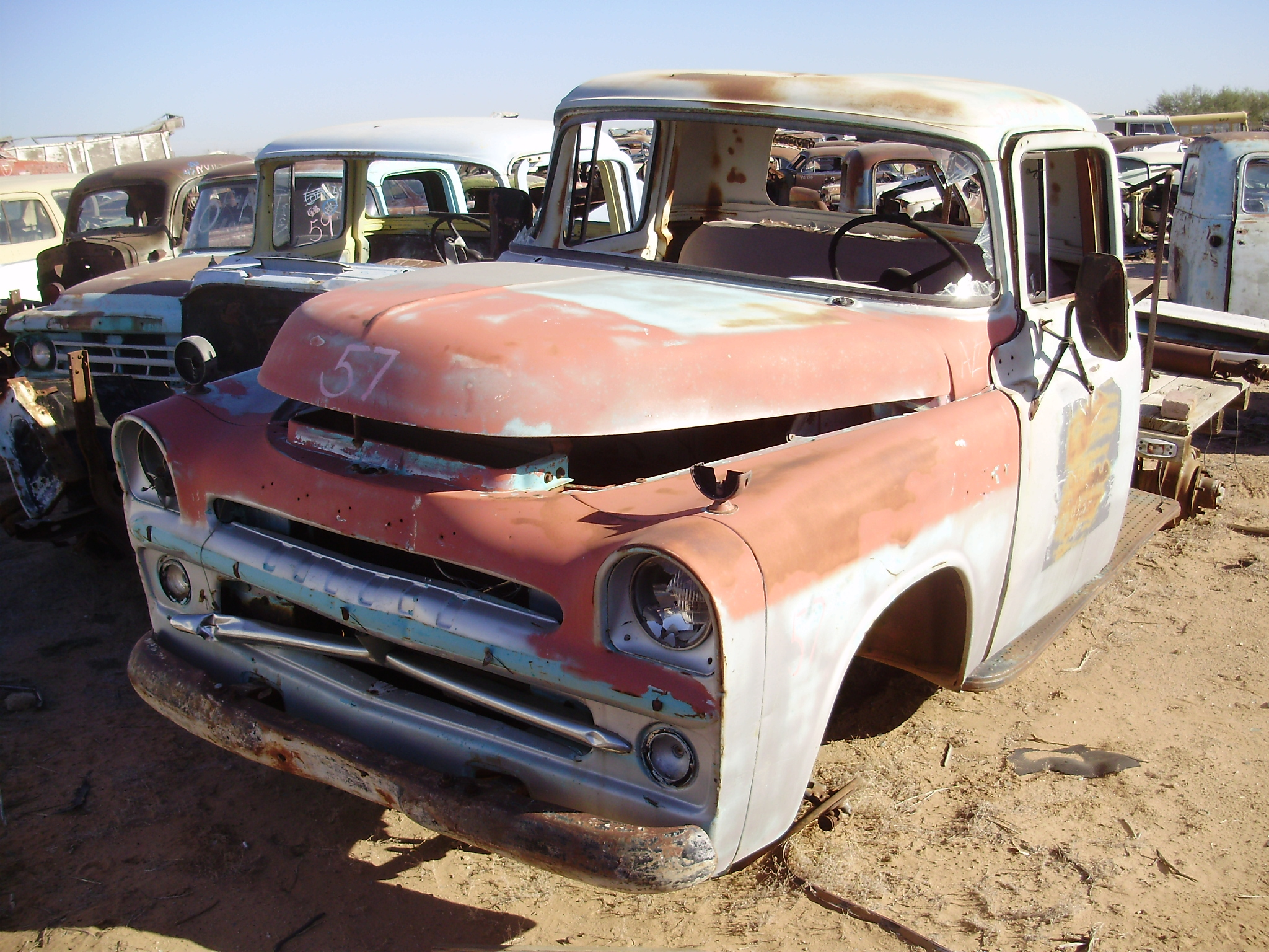1957 Dodge Truck 300 57dt9804c Desert Valley Auto Parts
