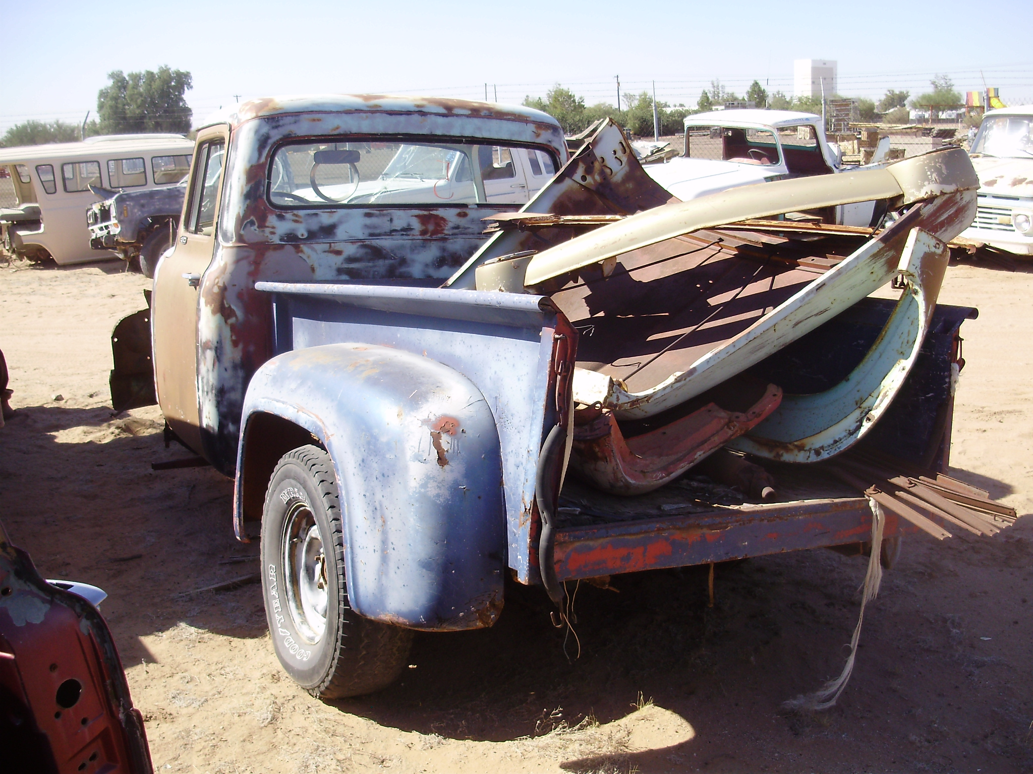 1956 Ford-Truck F 100 (#56FT3040C) | Desert Valley Auto Parts - photo#29