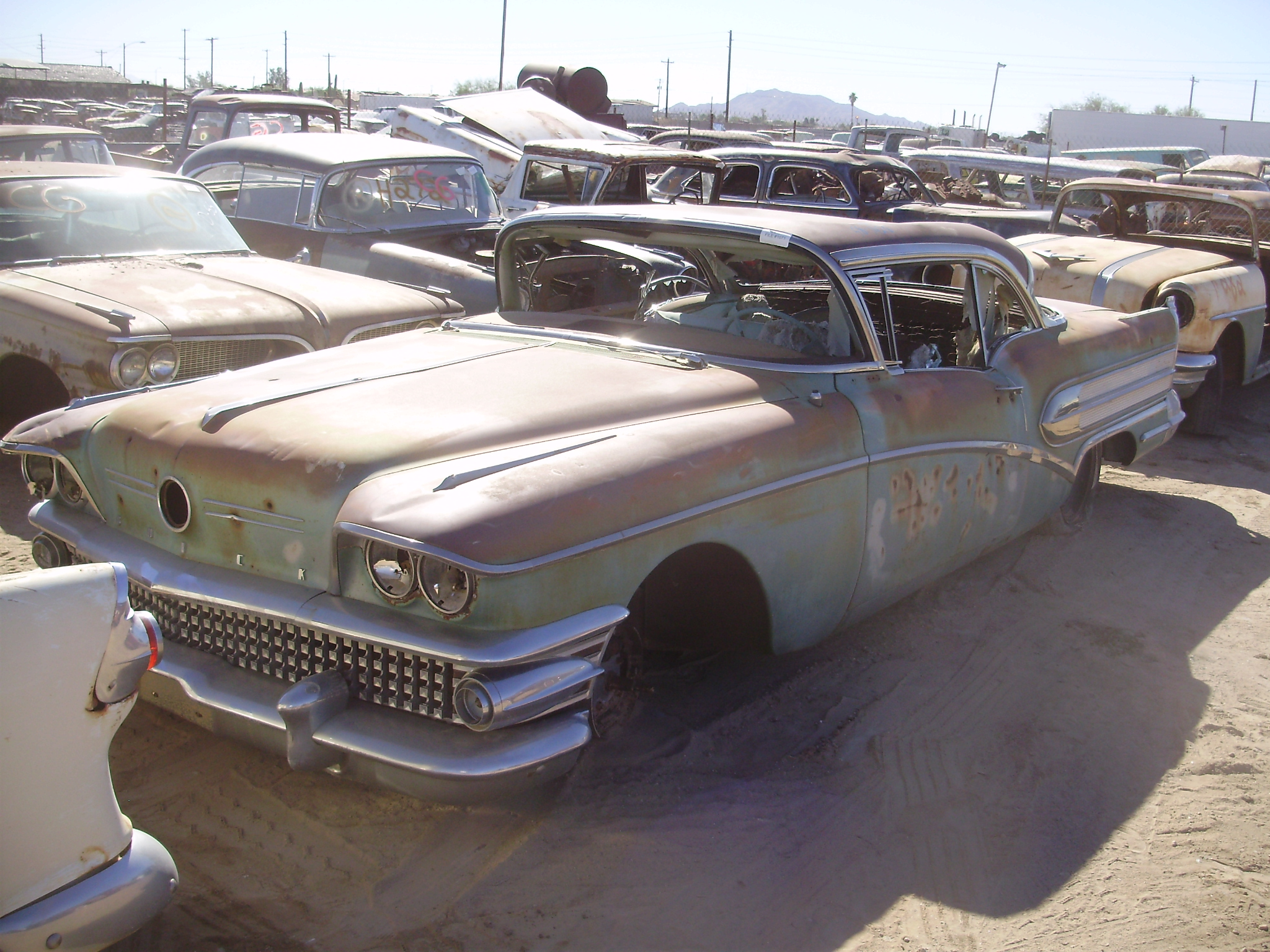 1958 buick parts