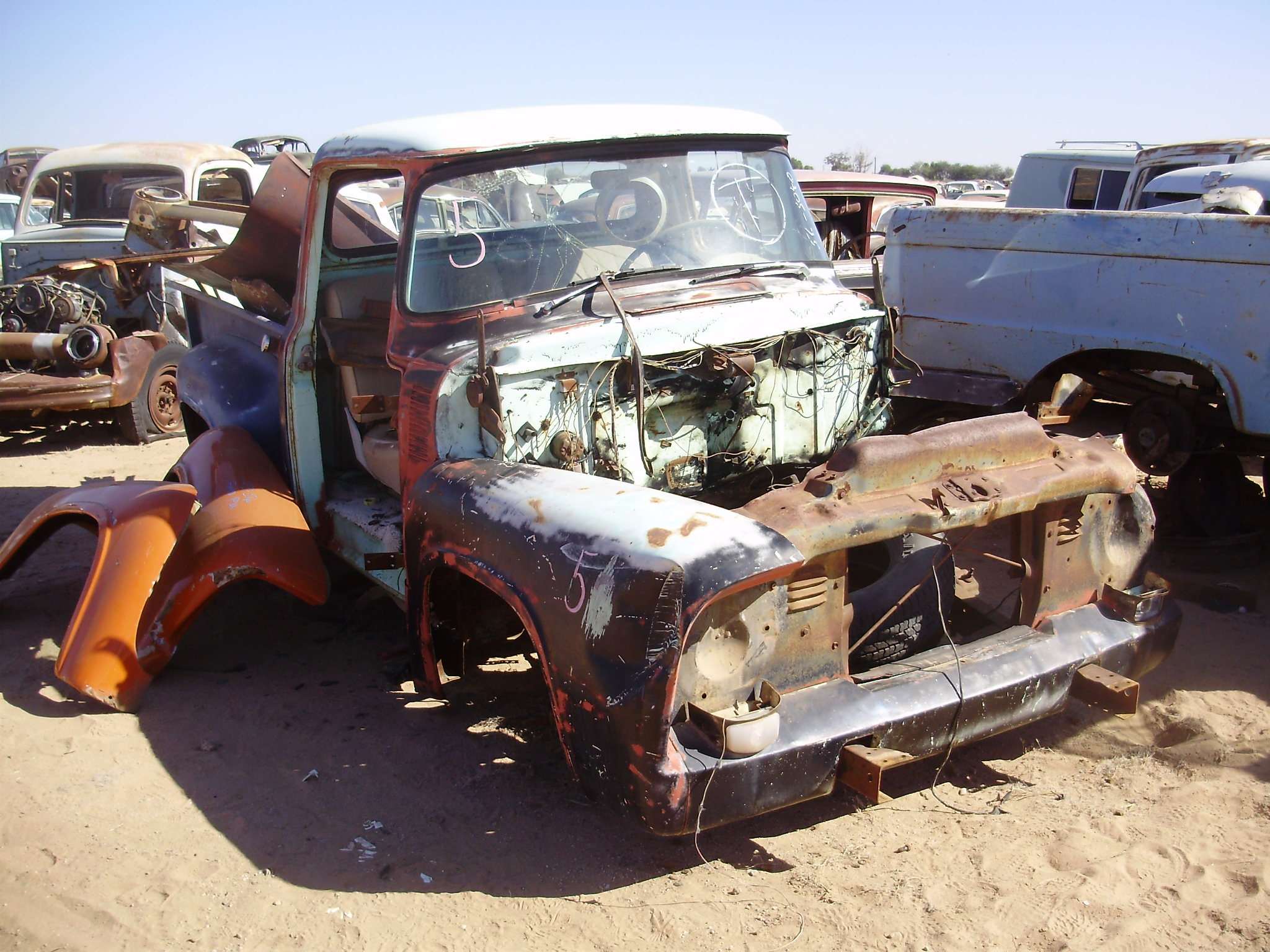 1956 ford truck f 100 56ft3040c desert valley auto parts. Black Bedroom Furniture Sets. Home Design Ideas