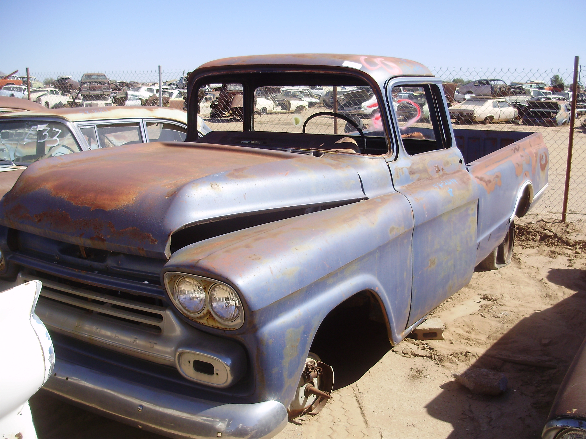 1958 Chevy Truck 1 2 58ct2644c Desert Valley Auto Parts