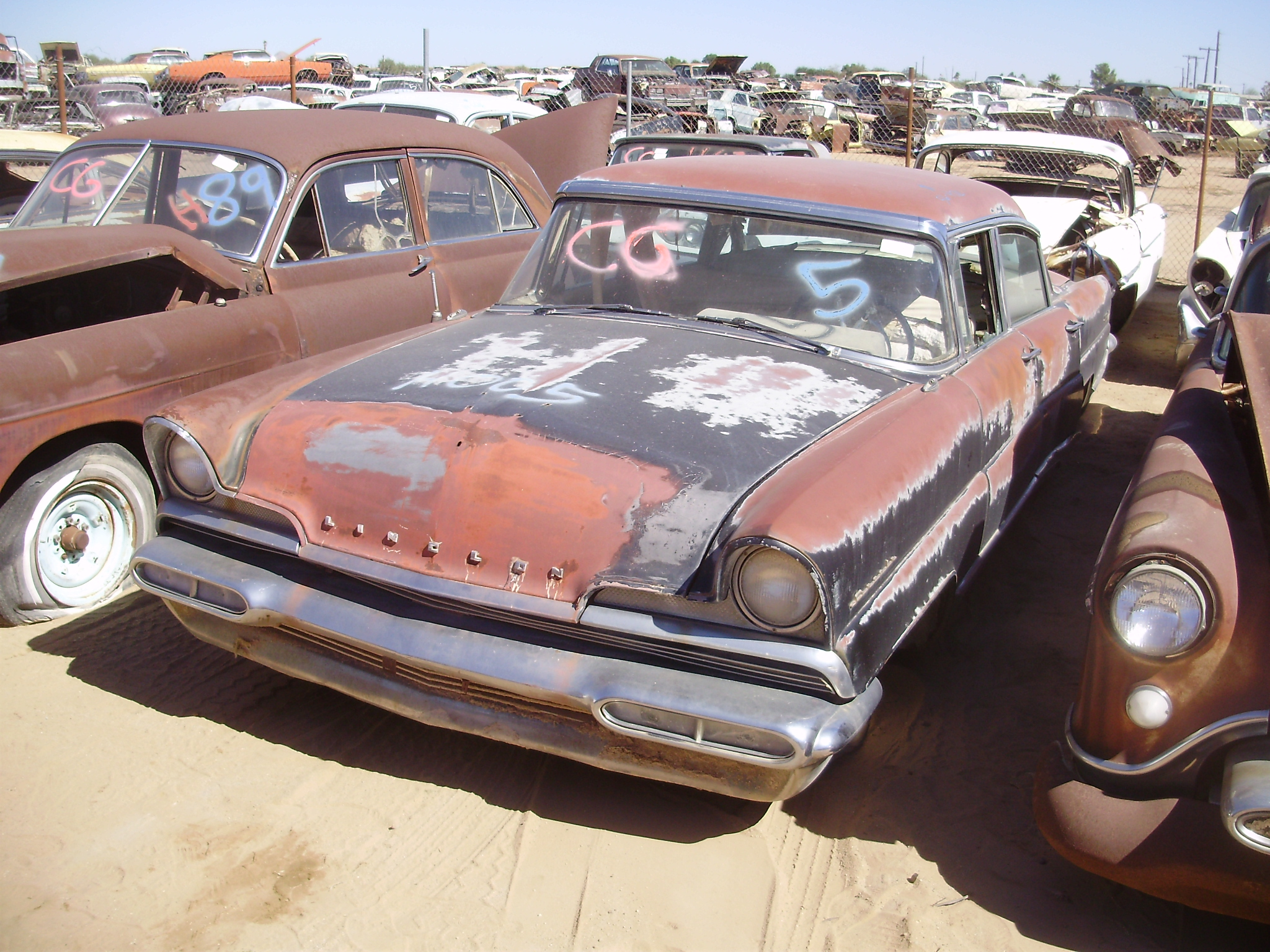 salvage valley continental parts auto lincoln desert