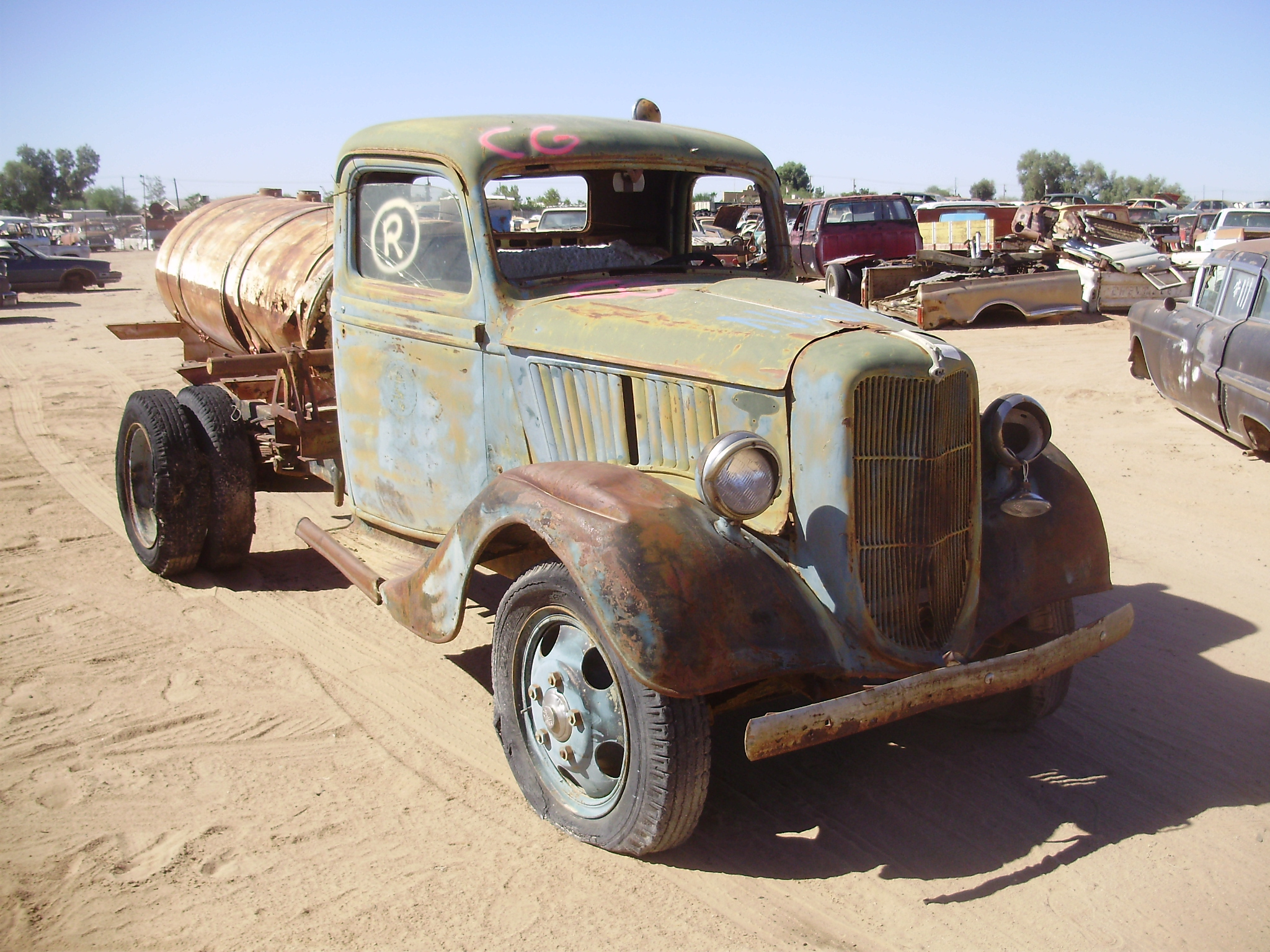 1935 Ford-Truck Ford Truck (#35FTNVRB3C) | Desert Valley Auto Parts