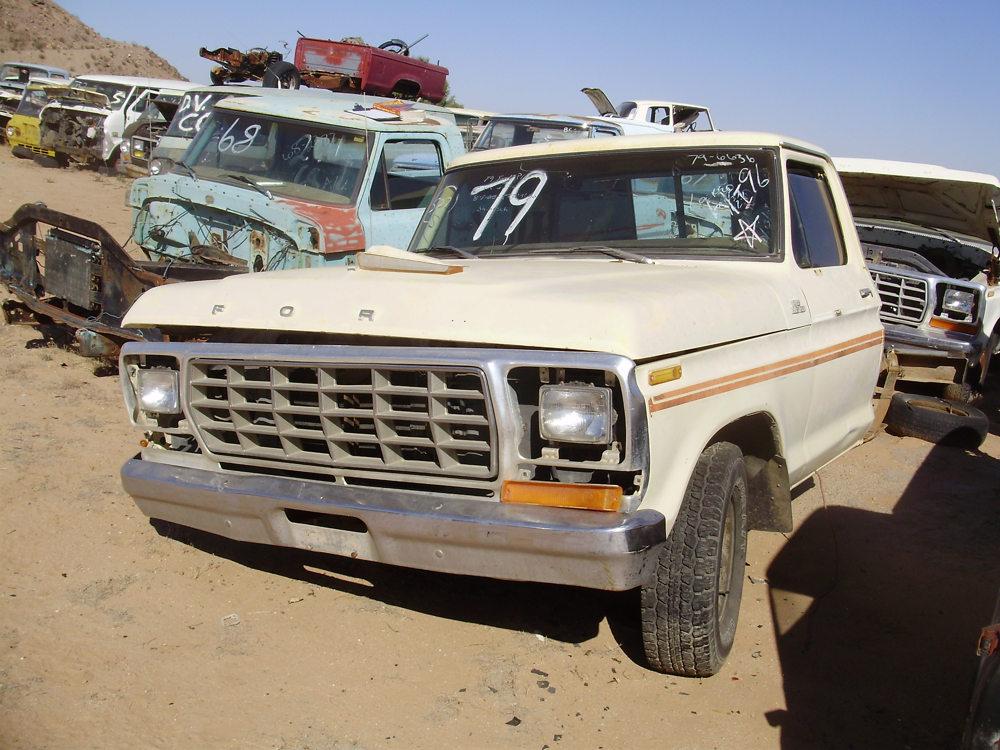 1979 Ford-Truck F 100 (#79FT6636C) | Desert Valley Auto Parts