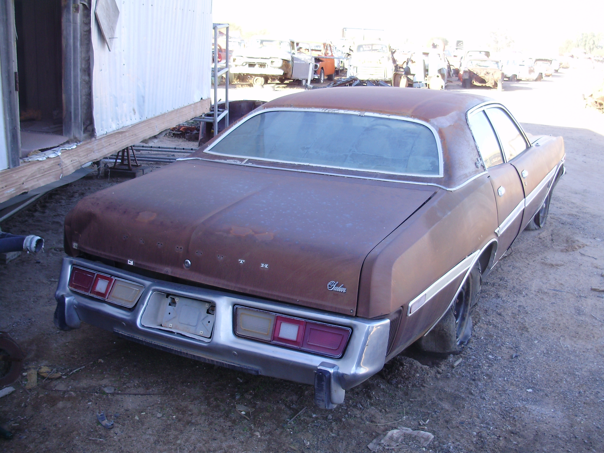 1977 Plymouth Fury 77pl2310c Desert Valley Auto Parts 1950s