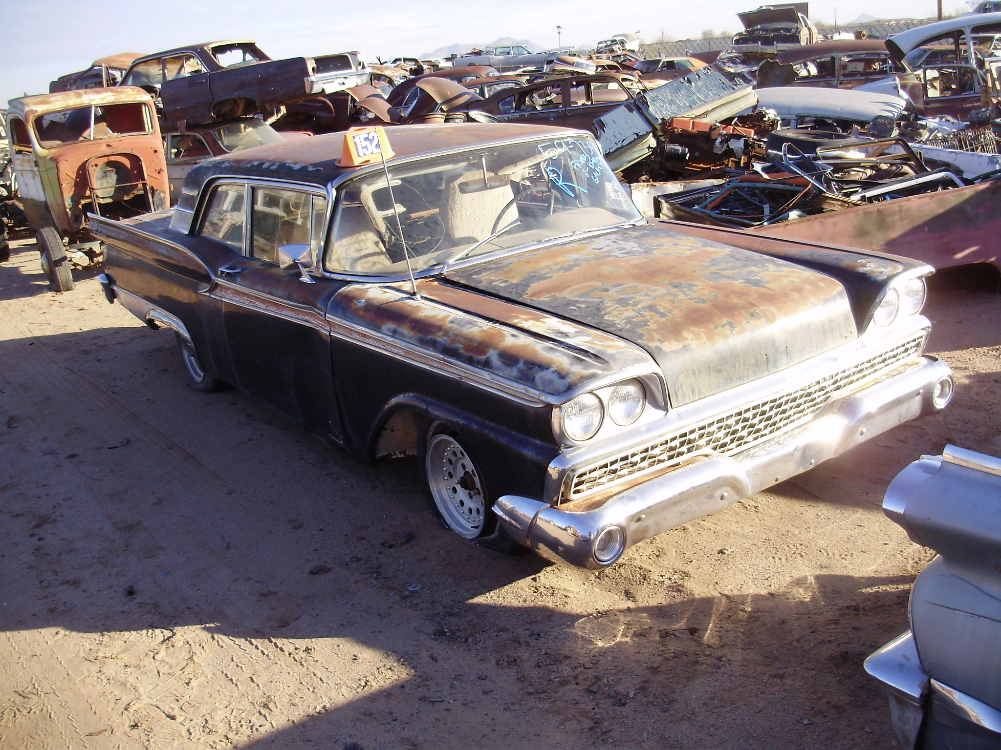 1959 Ford Galaxie 500 59fo7345c Desert Valley Auto Parts
