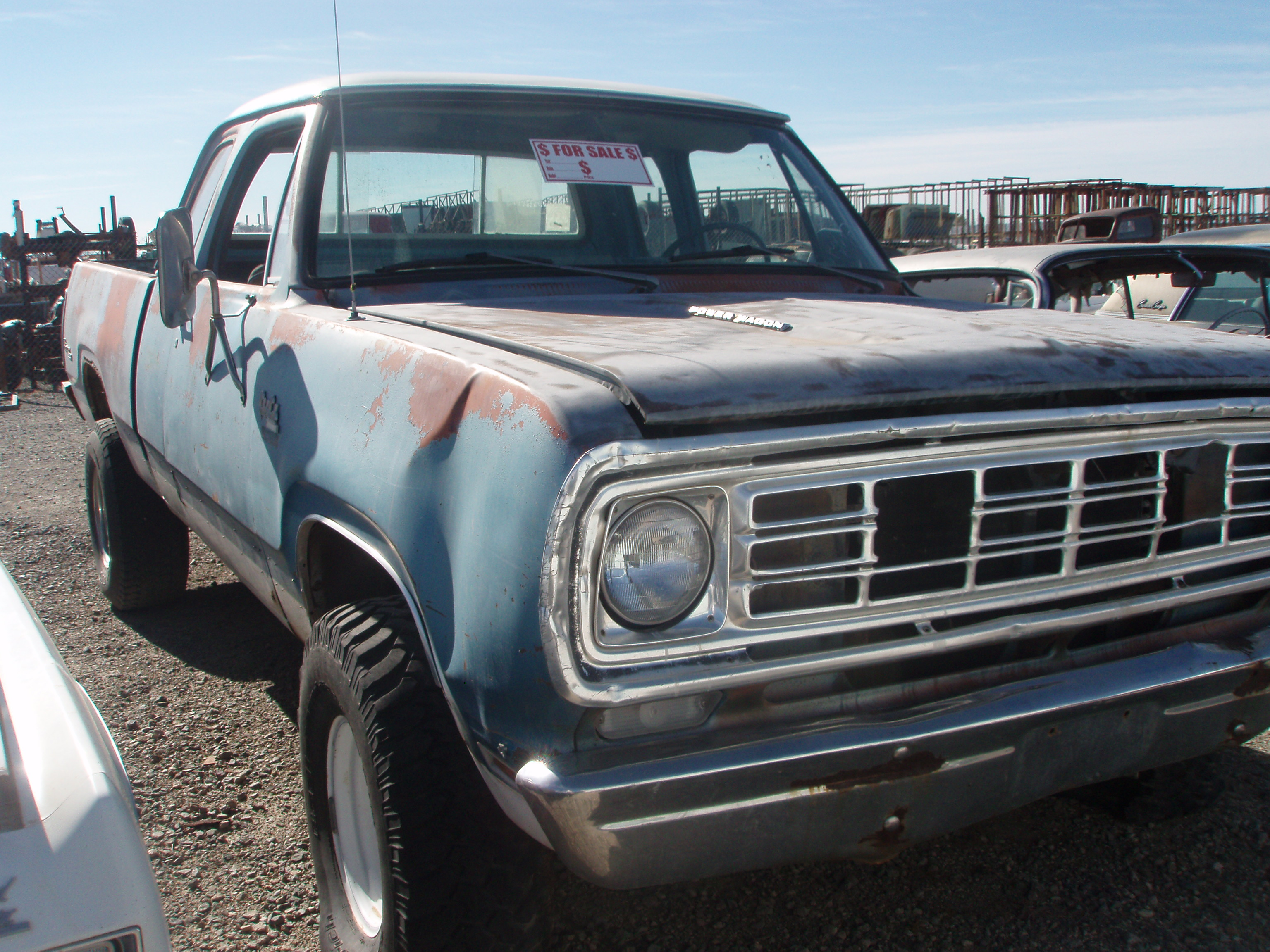 1976 Dodge-Truck 1/2 (#76DT5449) | Desert Valley Auto Parts