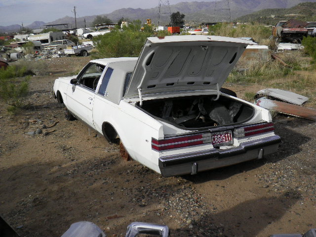 1984 Buick Regal (#84BU4012B) | Desert Valley Auto Parts