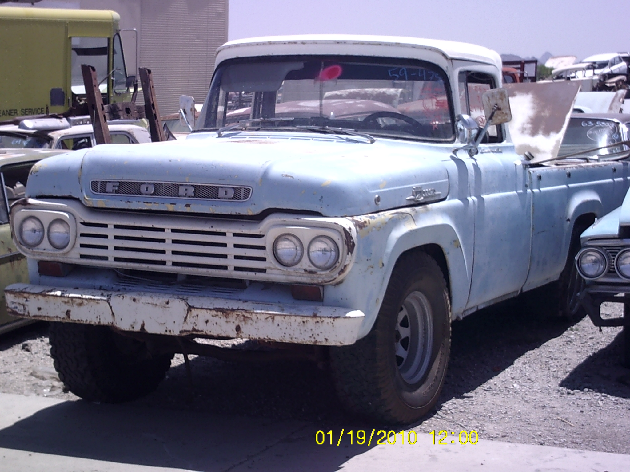 1959 Ford-Truck 1/2 (#59FT4750D) | Desert Valley Auto Parts