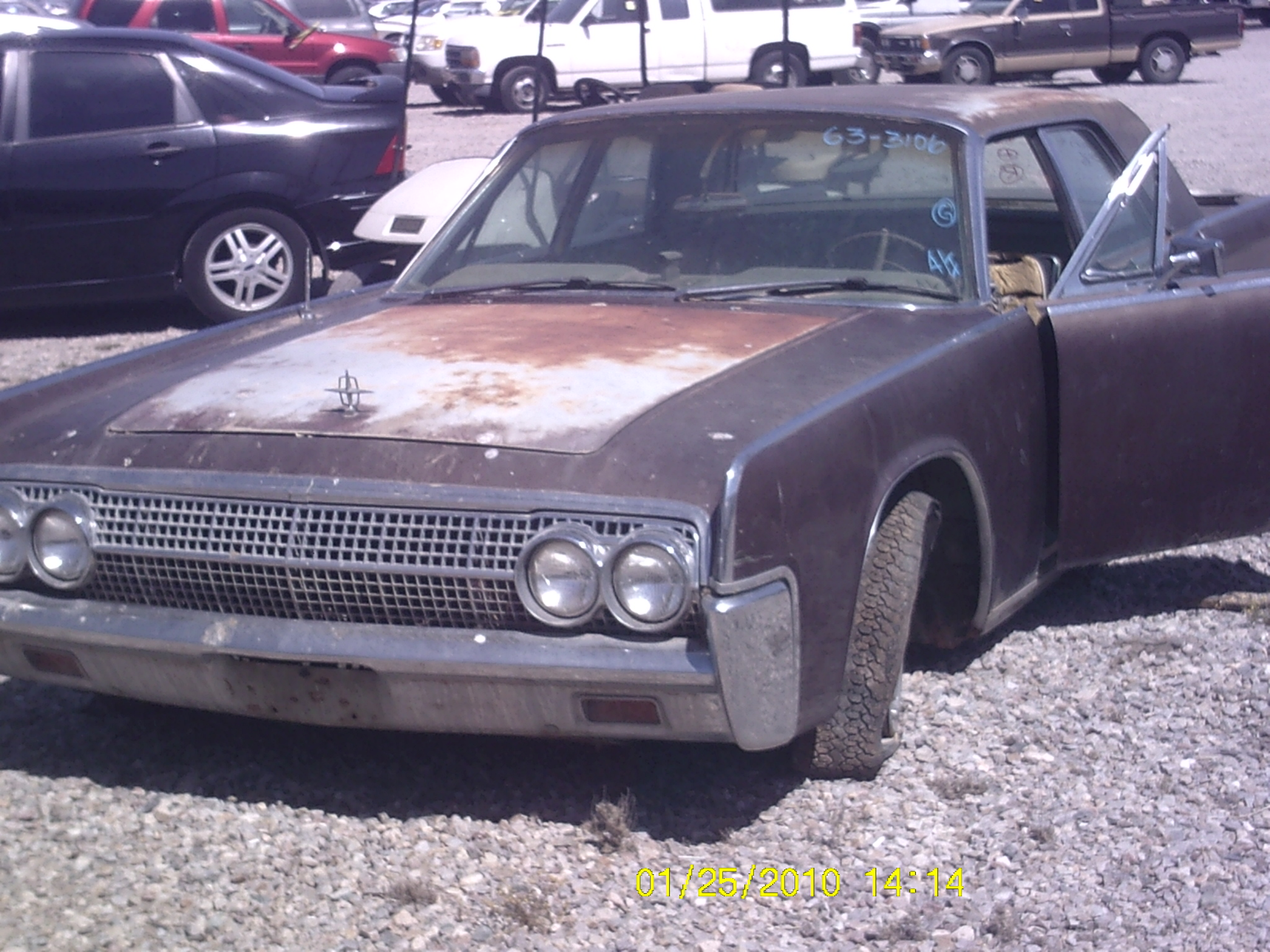 Salvage Car Parts >> 1963 Lincoln Continental (#63LI3106D) | Desert Valley Auto Parts
