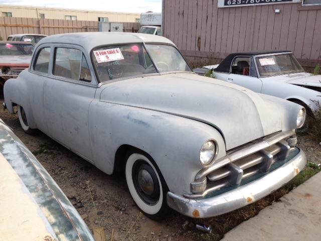 1951 plymouth belvedere 51pl6457d desert valley auto for 1951 plymouth 2 door