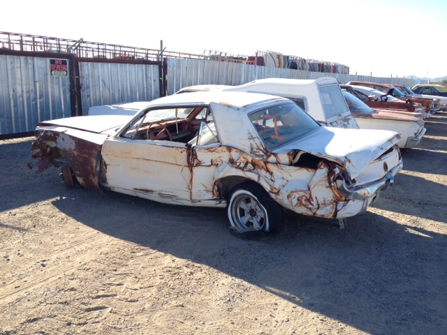 1965 Ford Mustang 65fo9647d Desert Valley Auto Parts