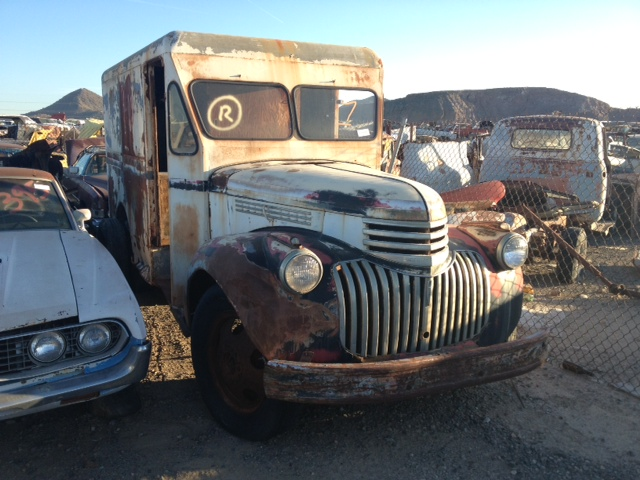 1945 Chevy Truck Parts 1945 Chevy-truck 1/2